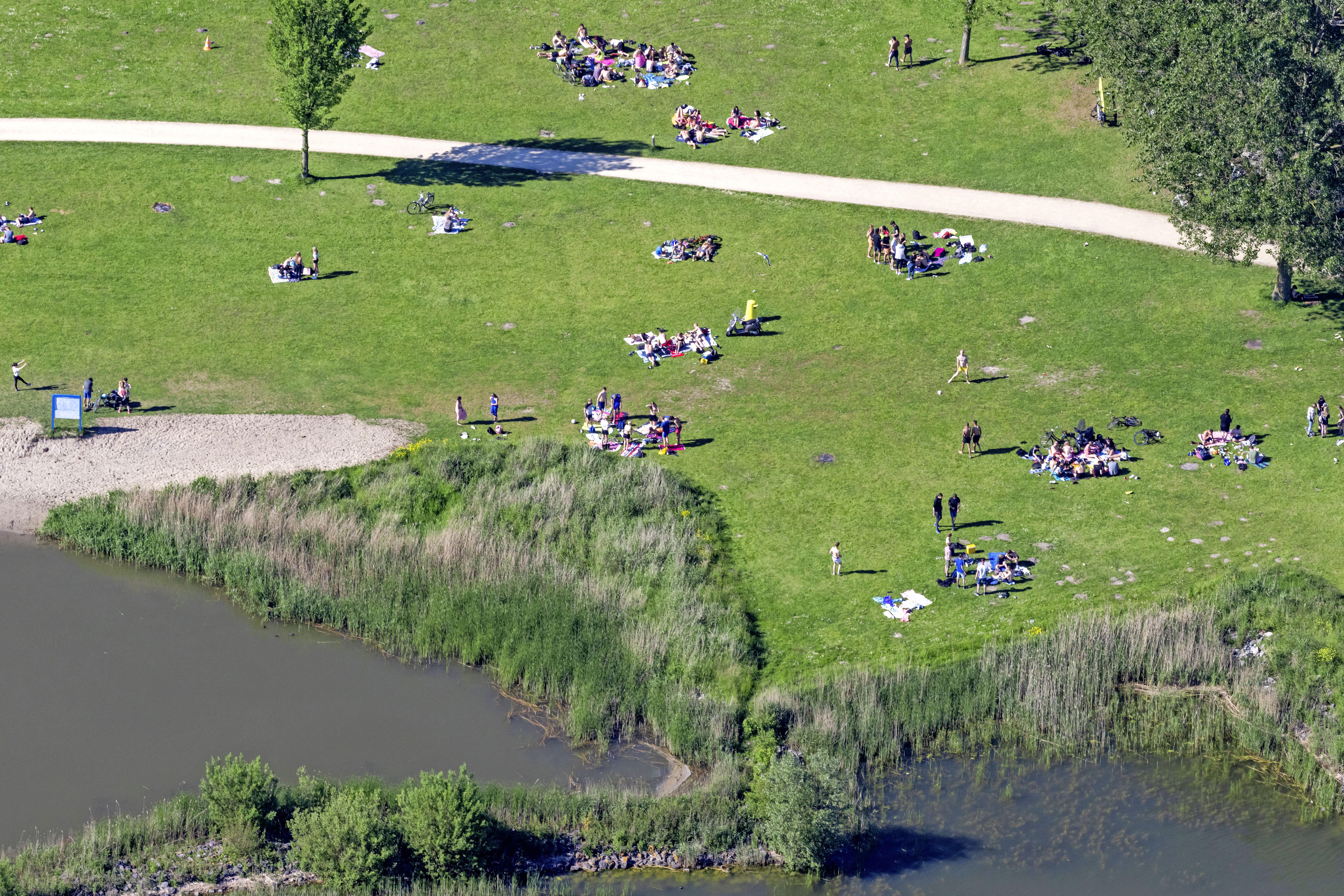 Recreatiegebied Geestmerambacht trekt 2,2 miljoen bezoekers. Door corona enorme stijging