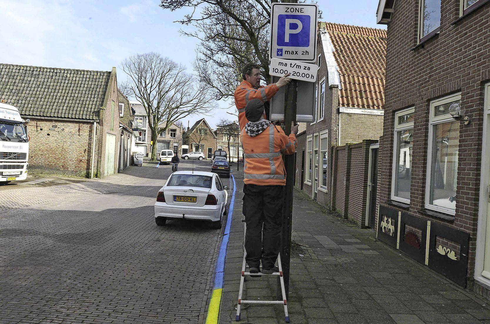 Parkeer en verkeersplan Enkhuizen wordt vlotgetrokken, maar vooral op parkeergebied
