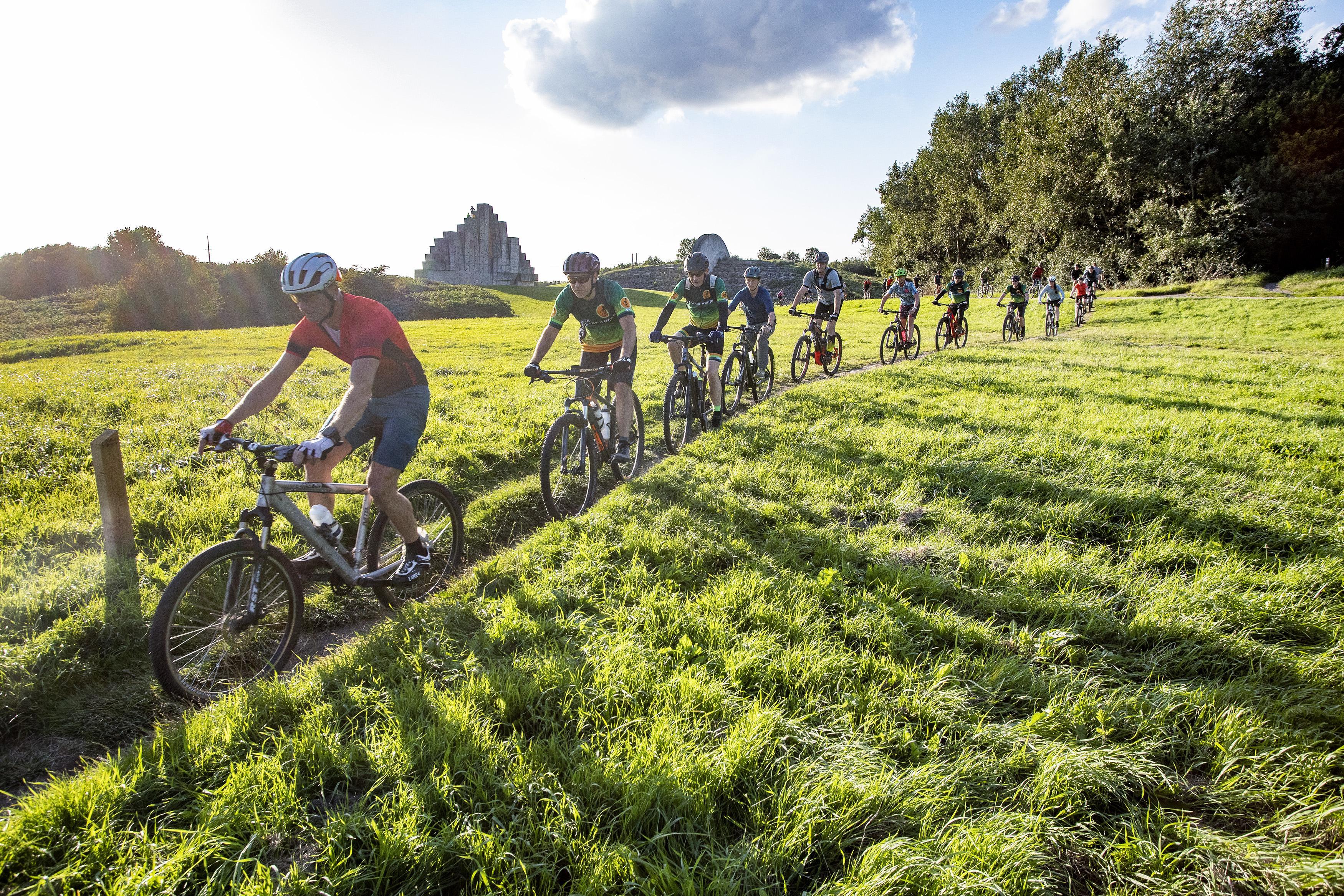 Voor sporters is het genieten in de groene oase van Spaarnwoude