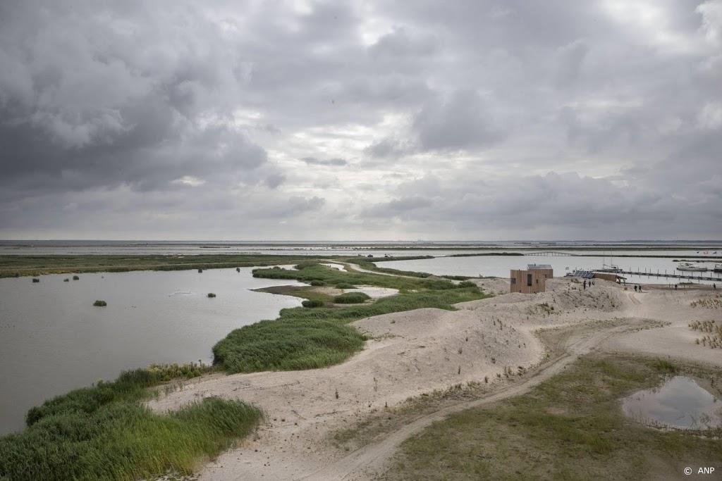 Eerste vijf eilanden van Marker Wadden zijn klaar