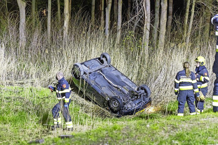 Zoektocht naar slachtoffer ongeval in Beverwijk