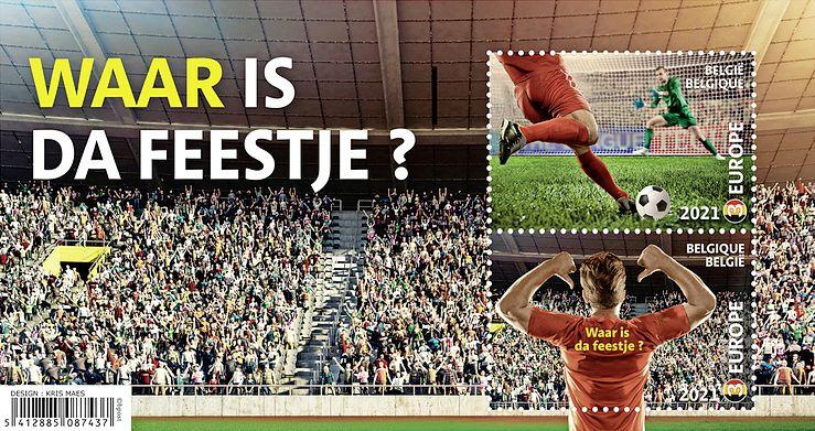 Hoe 'Waar is da feestje?' van een Belgische schoolklas terechtkwam in de microfoon van Eden Hazard op de Grote Markt
