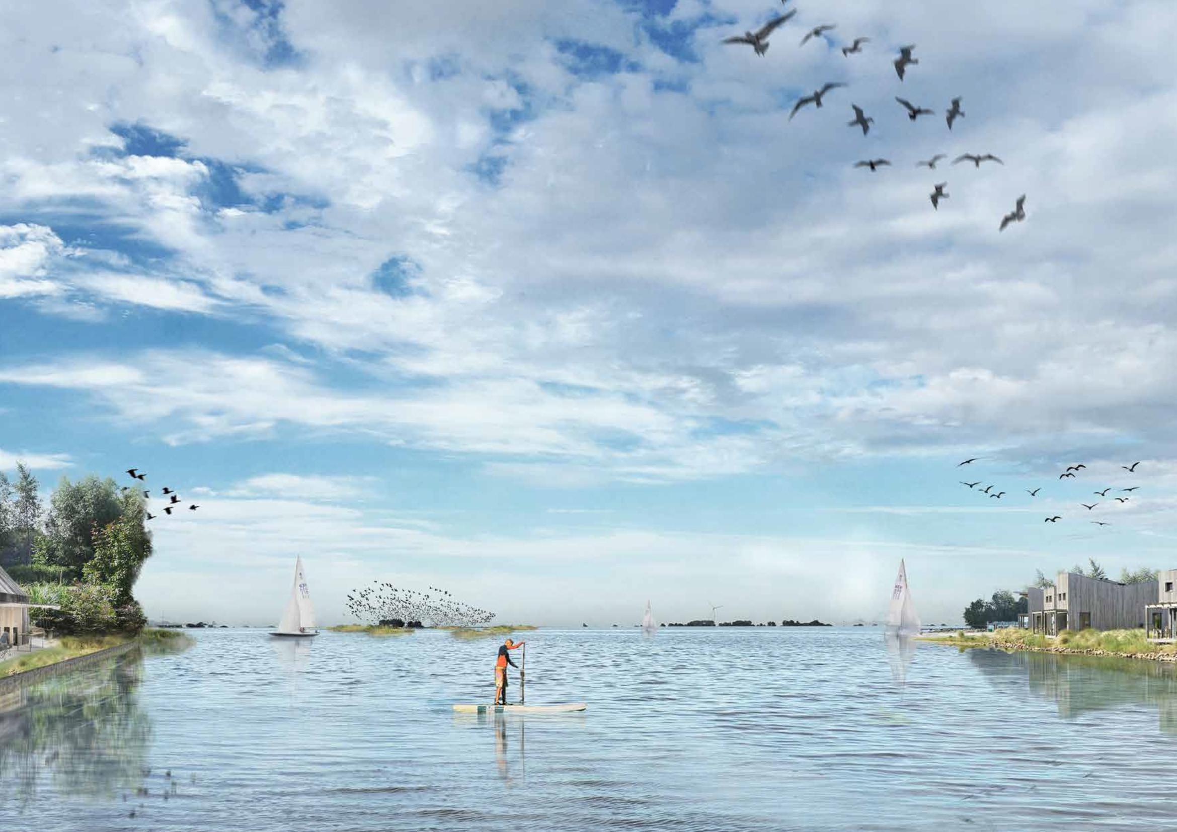 Een tweemaal zo groot Amstelmeer, ziet de toekomst er zo uit?