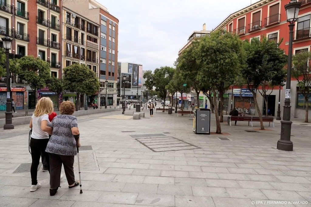 Spaanse regering akkoord met gedeeltelijke lockdown Madrid