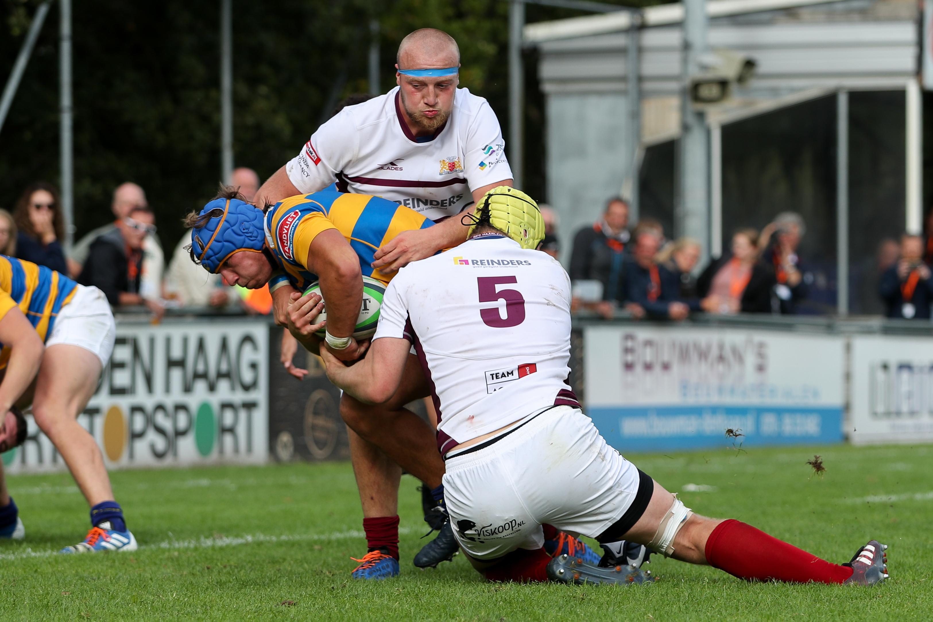 Stevige nederlaag voor RFC Haarlem bij rentree in de ereklasse, maar geen paniek!