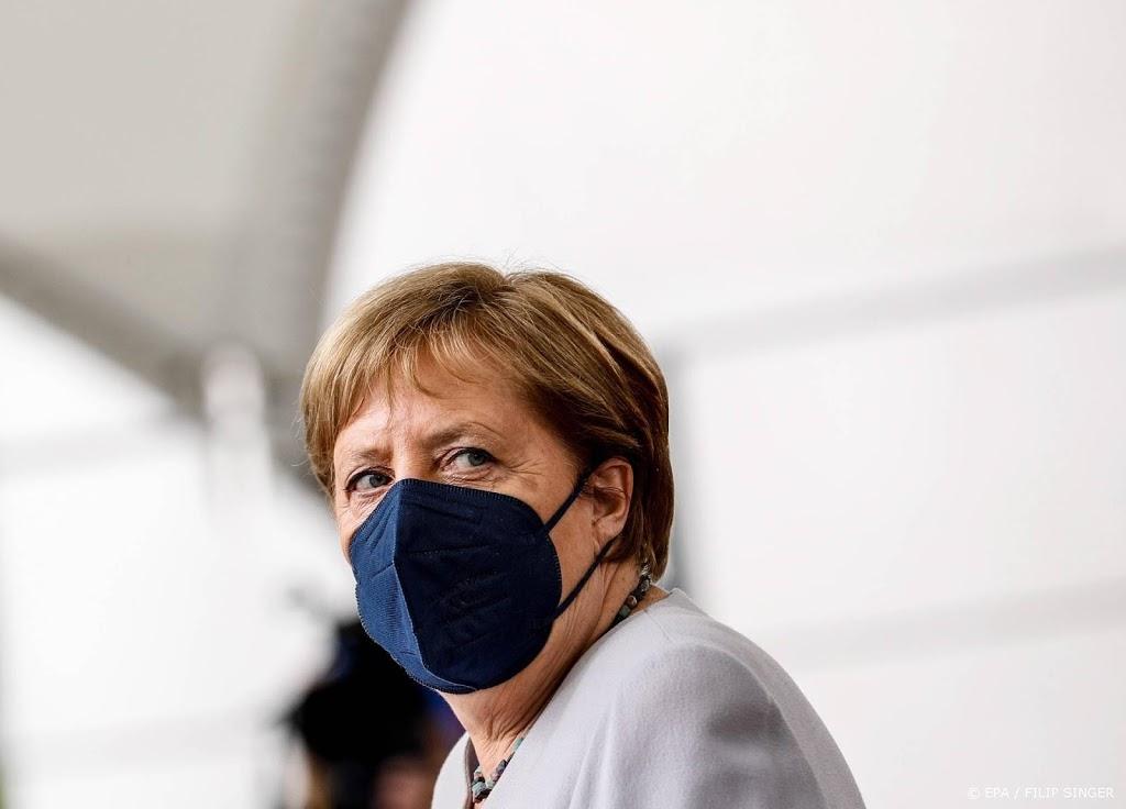 Laatste vragenuurtje voor bondskanselier Merkel
