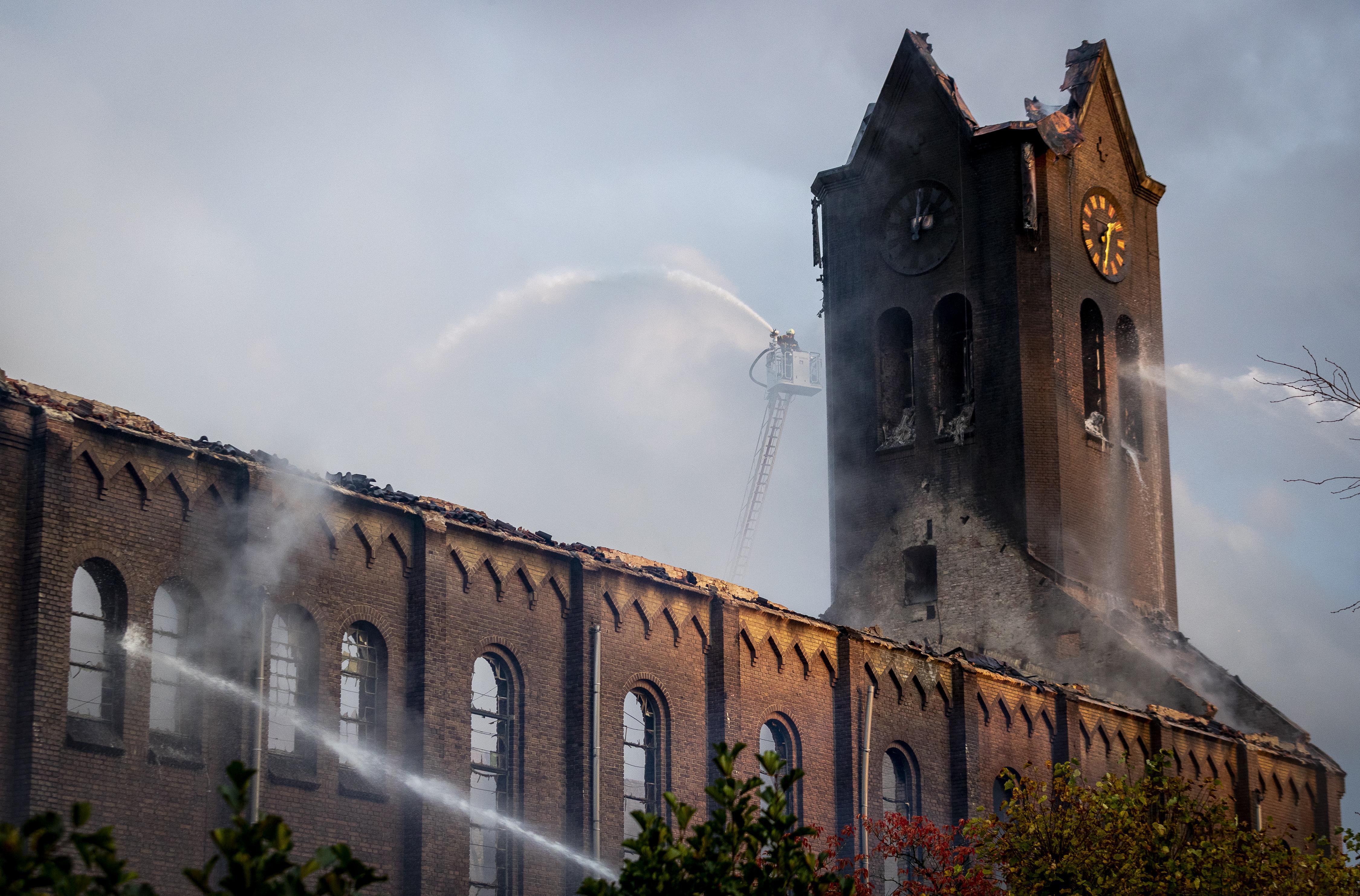 Brand kerk Hoogmade wordt dit weekeinde dubbel herdacht, maar herbouw is na een jaar nog altijd niet in zicht