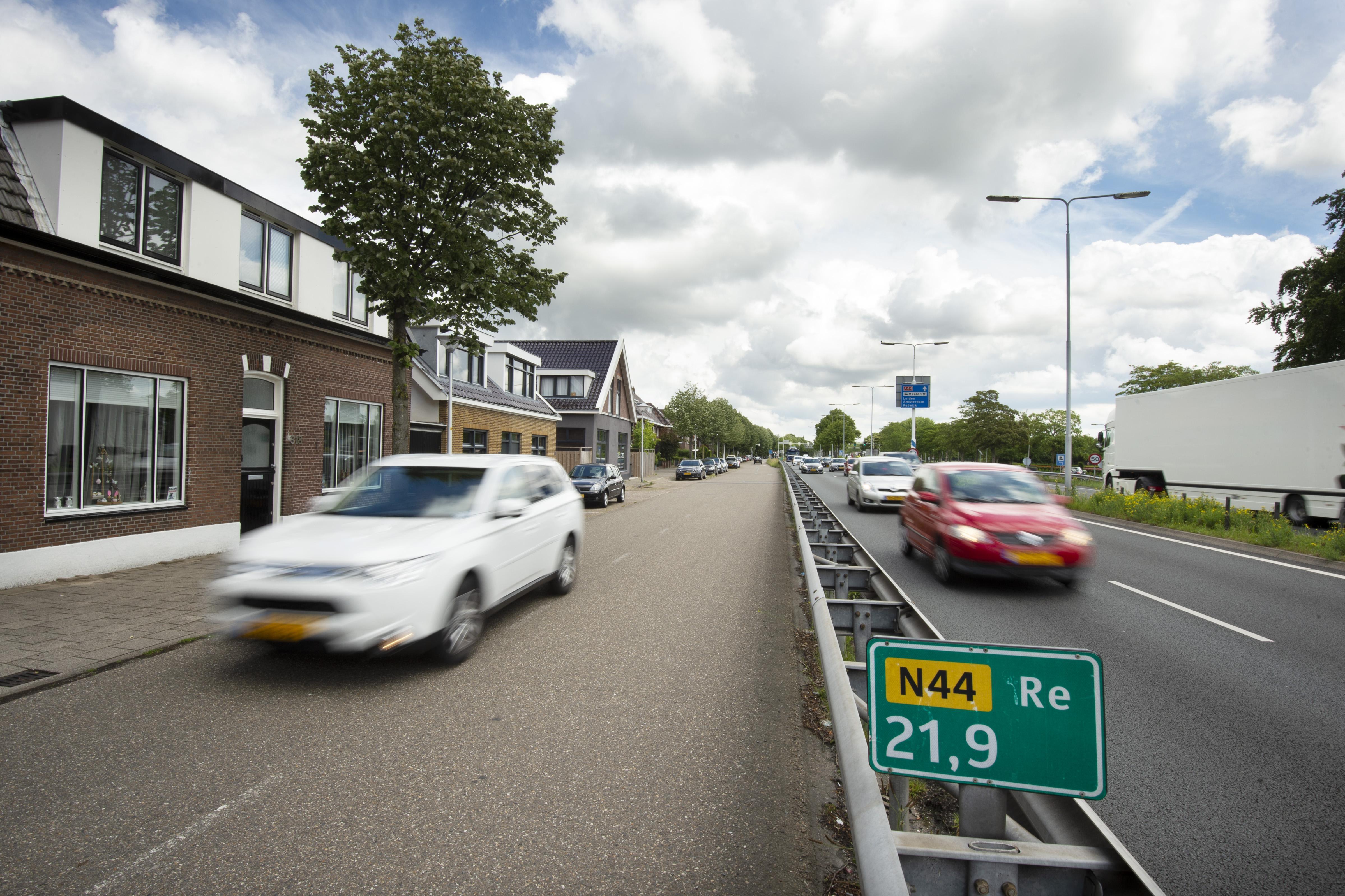 Aanpak geluidsoverlast N44 voor nog eens 69 woningen in Wassenaar
