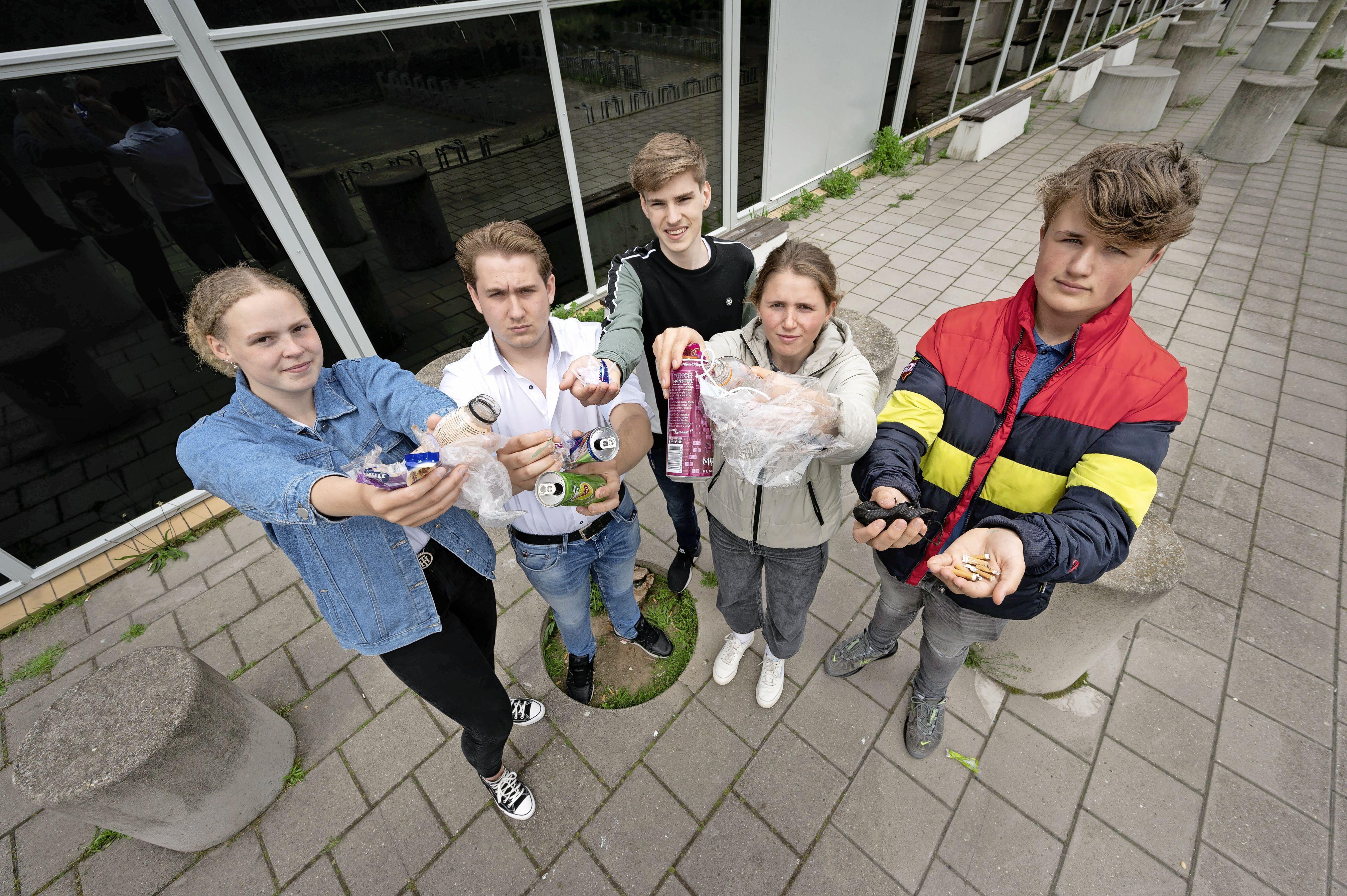 Plasticraad Northgo College maakt leerlingen bewust van zwerfvuil: 'Hoe jonger je begint, des te beter'