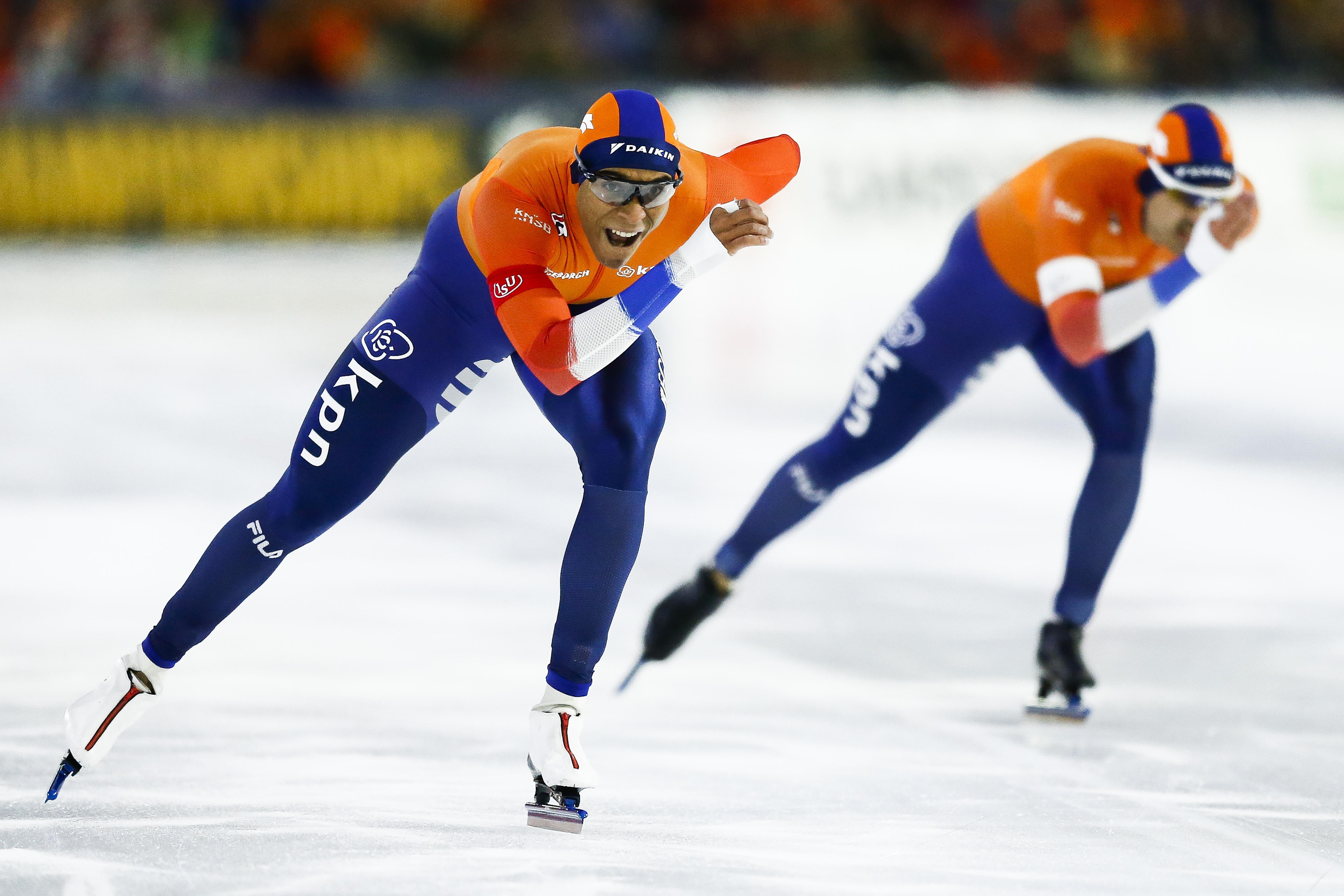 Schaatser Verbij uit Hoogmade haalt brons op EK 1000 meter