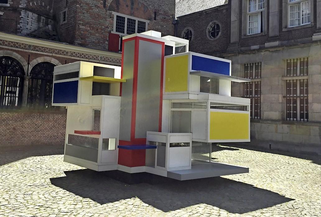 Leiden viert 100 jaar De Stijl in de openlucht