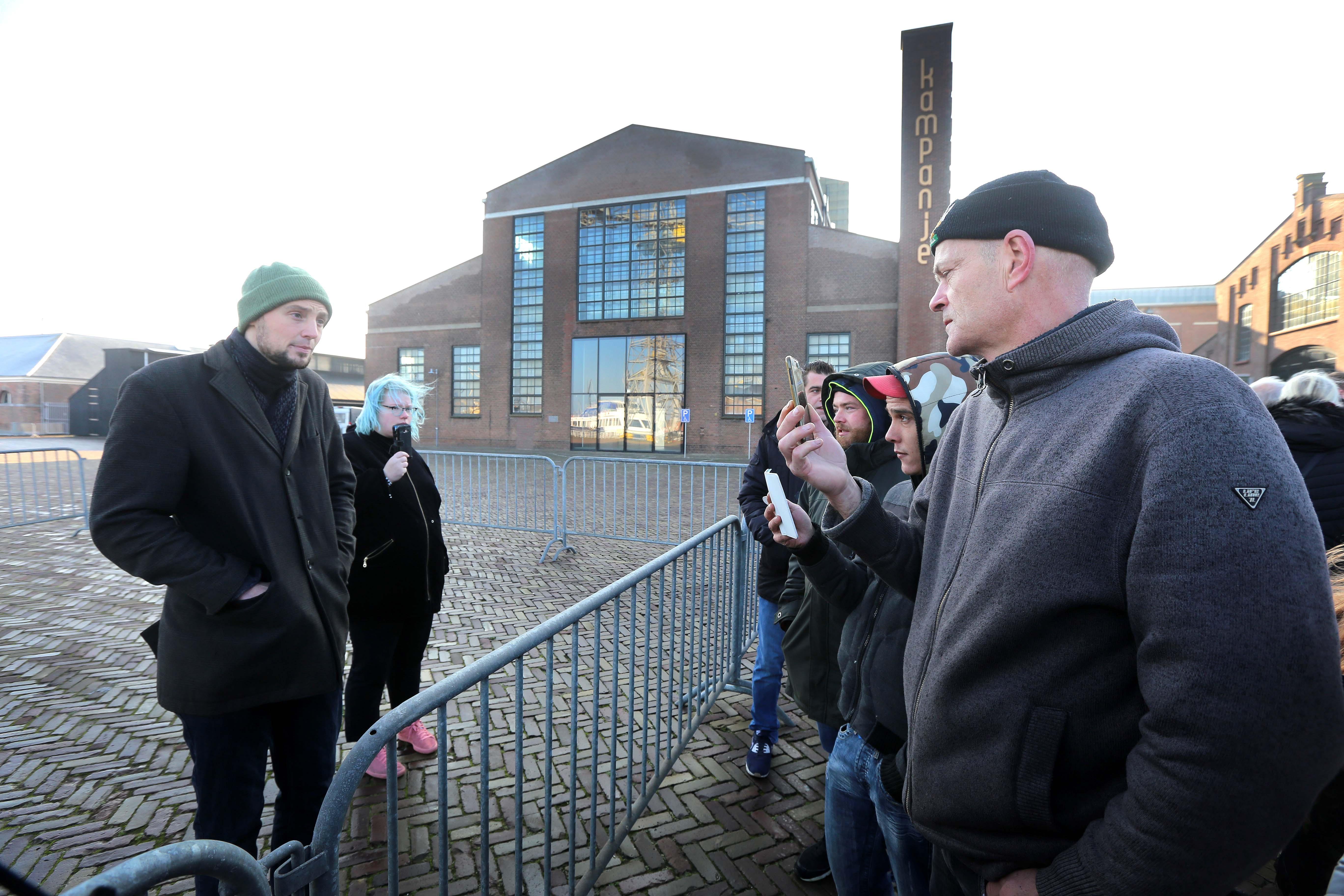 'Geen Zwarte Piet? Dan ook geen demonstratie bij de intocht van Sinterklaas in Den Helder'