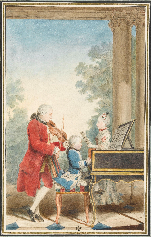 Uit de tijd: Mozart was in 1765 in Haarlem