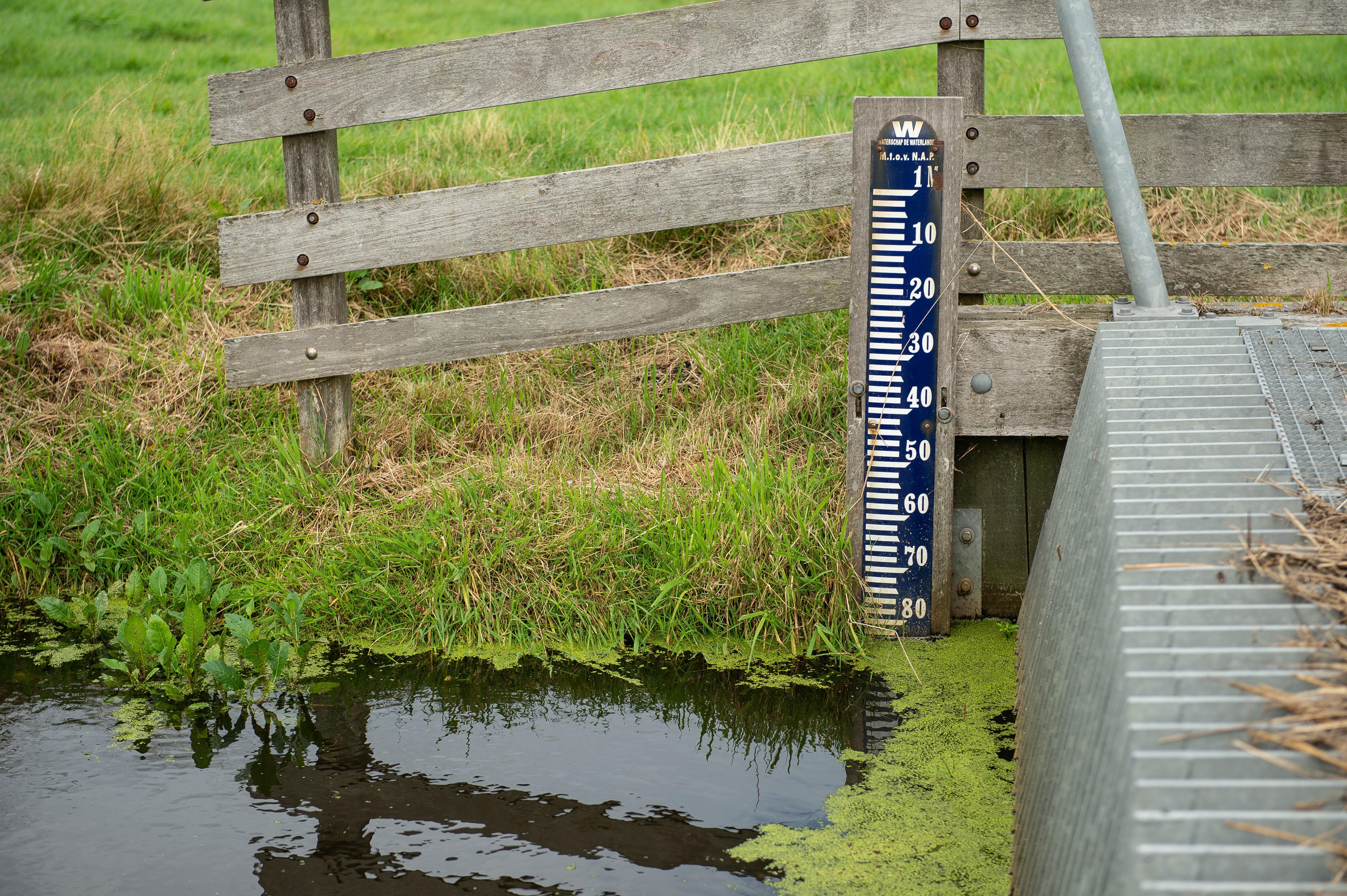 Onderbemaling in Noord-Holland 'zorgelijk': peilafwijkingen op 2800 plekken