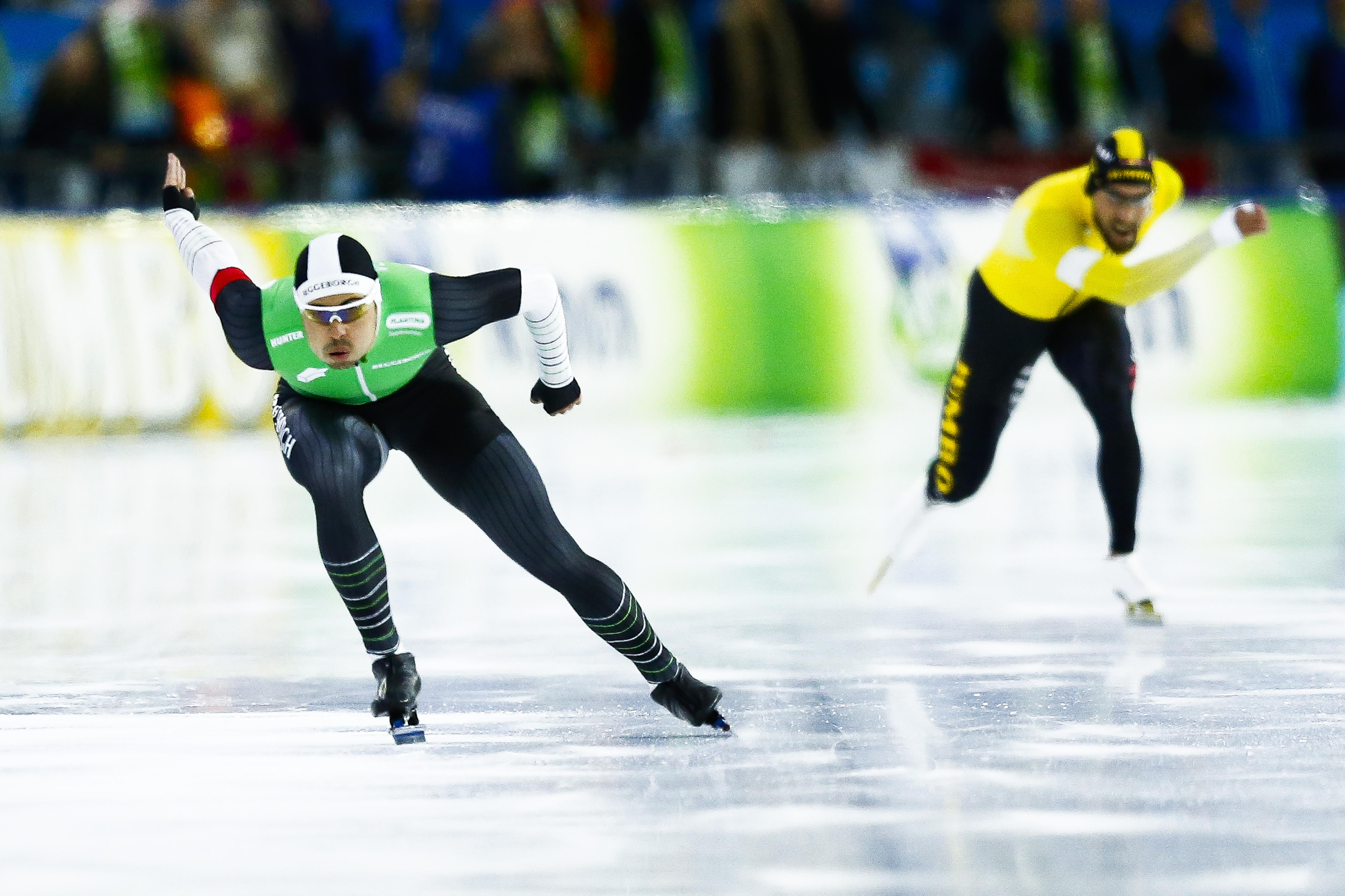 Kai Verbij verslaat Kjeld Nuis met baanrecord op de 1000 meter [video]