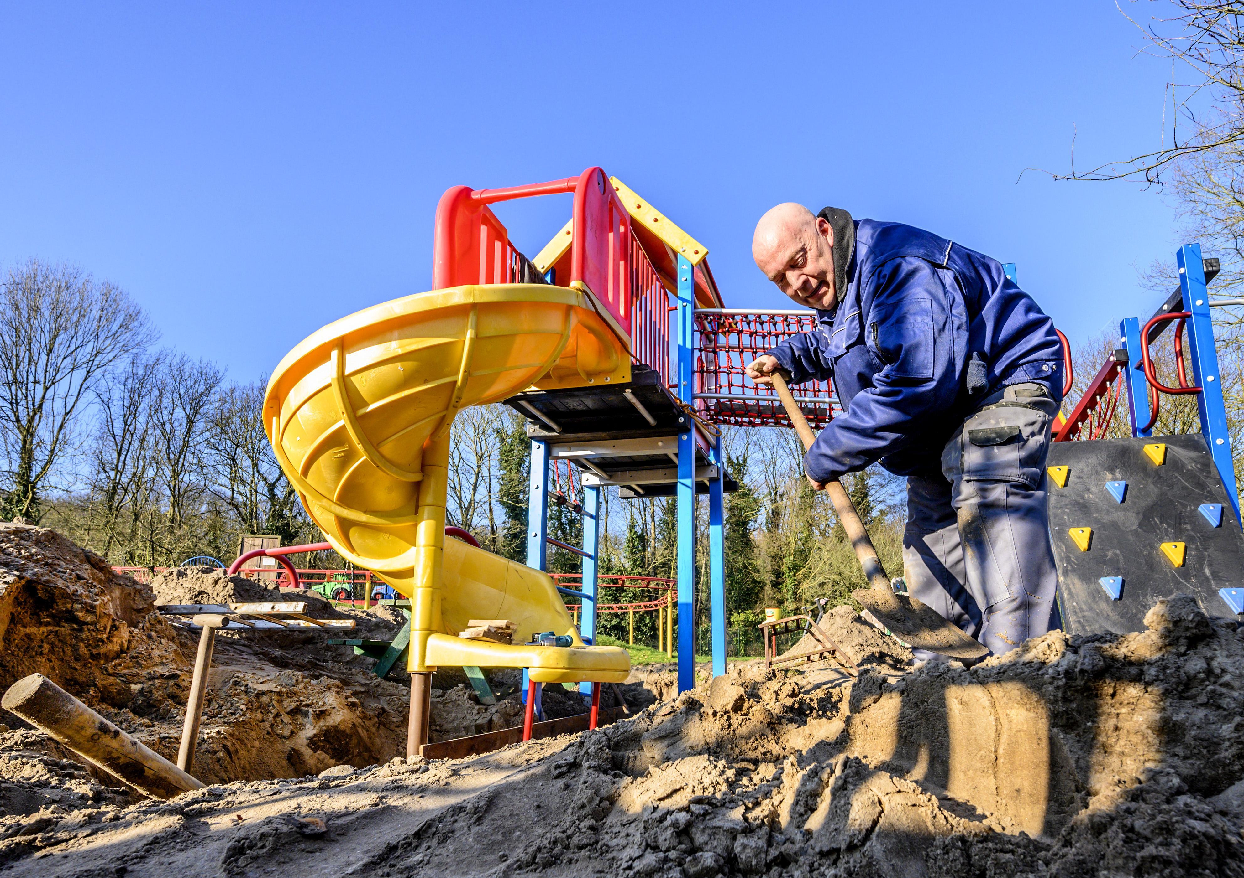 Nieuwe attractie en nieuwe beheerders voor speeltuin De Veilige Haven in IJmuiden
