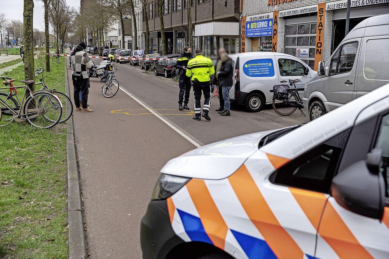 Aanrijding met fietser in Haarlem, automobilist aangehouden na positieve drugstest