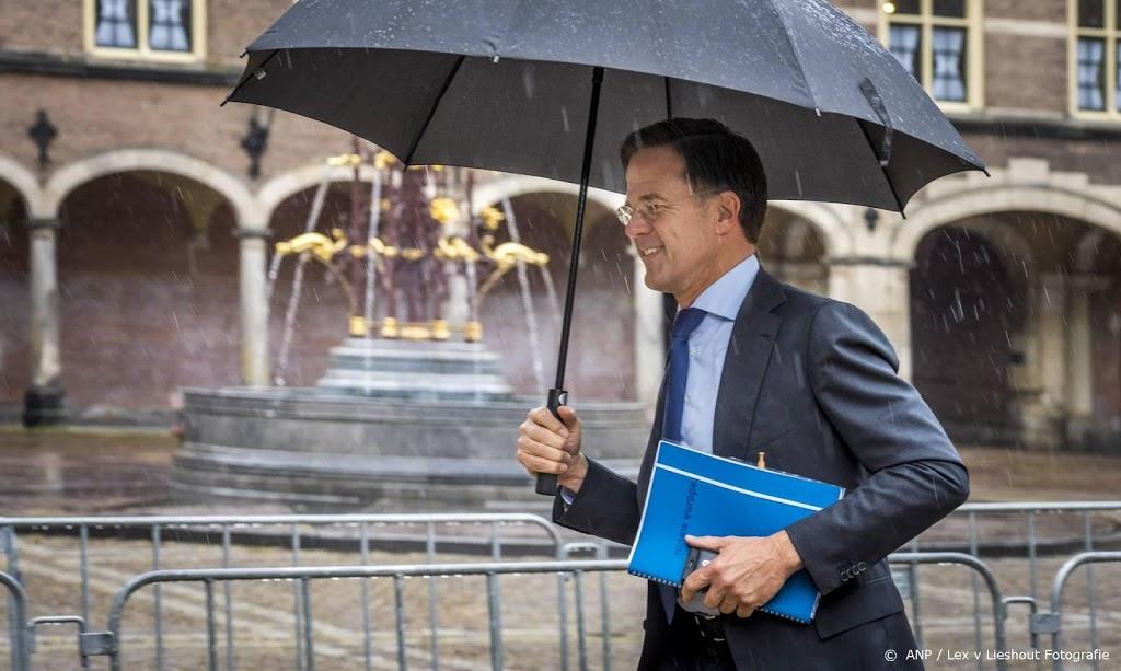 Rutte: positie VVD in formatie is na weekend niet veranderd