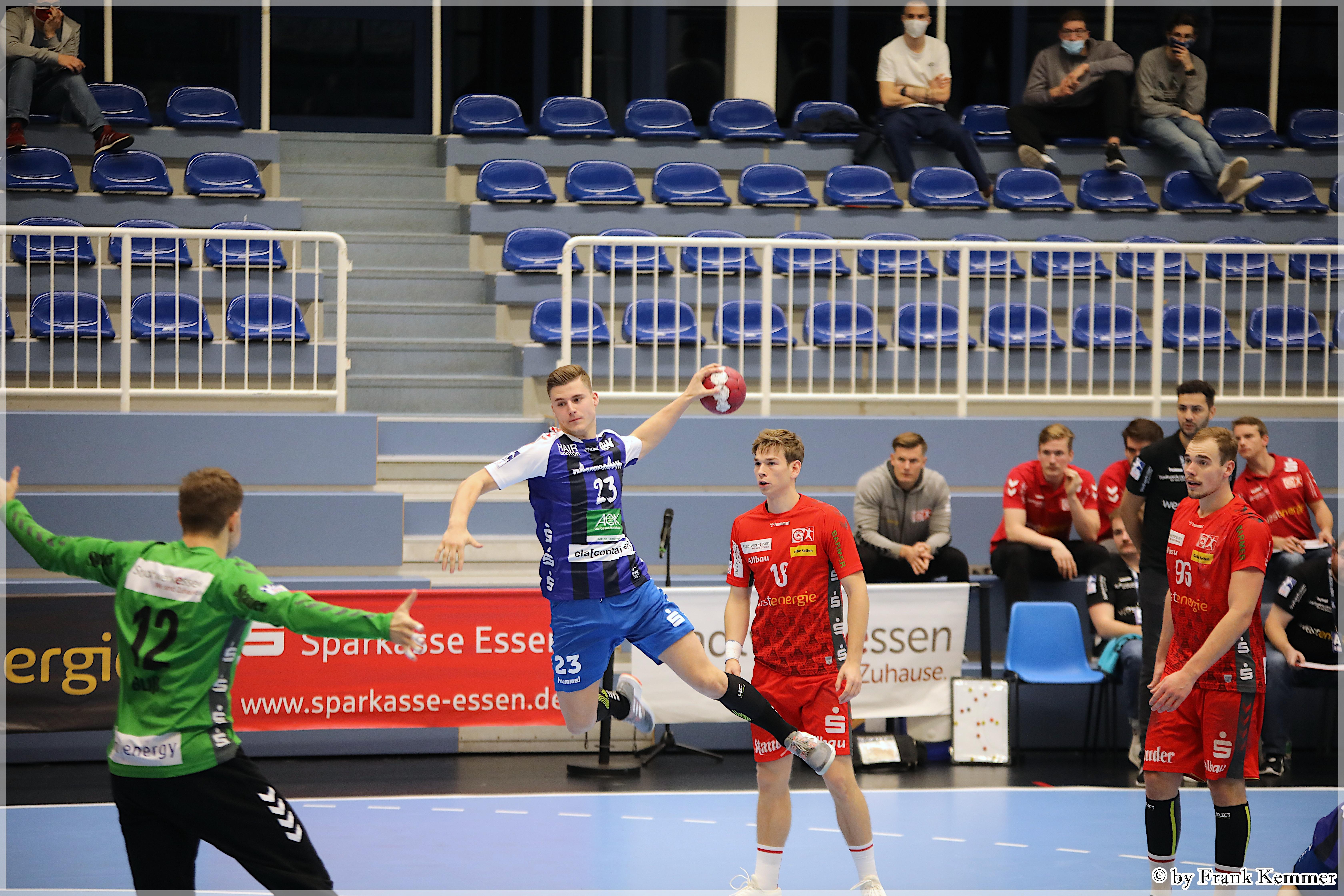 Eemnesser Sander Visser is handbalprof in Duitsland: 'Het niveau is zo belachelijk hoog hier. Alsof je van de Jupiler League naar de Premier League gaat'