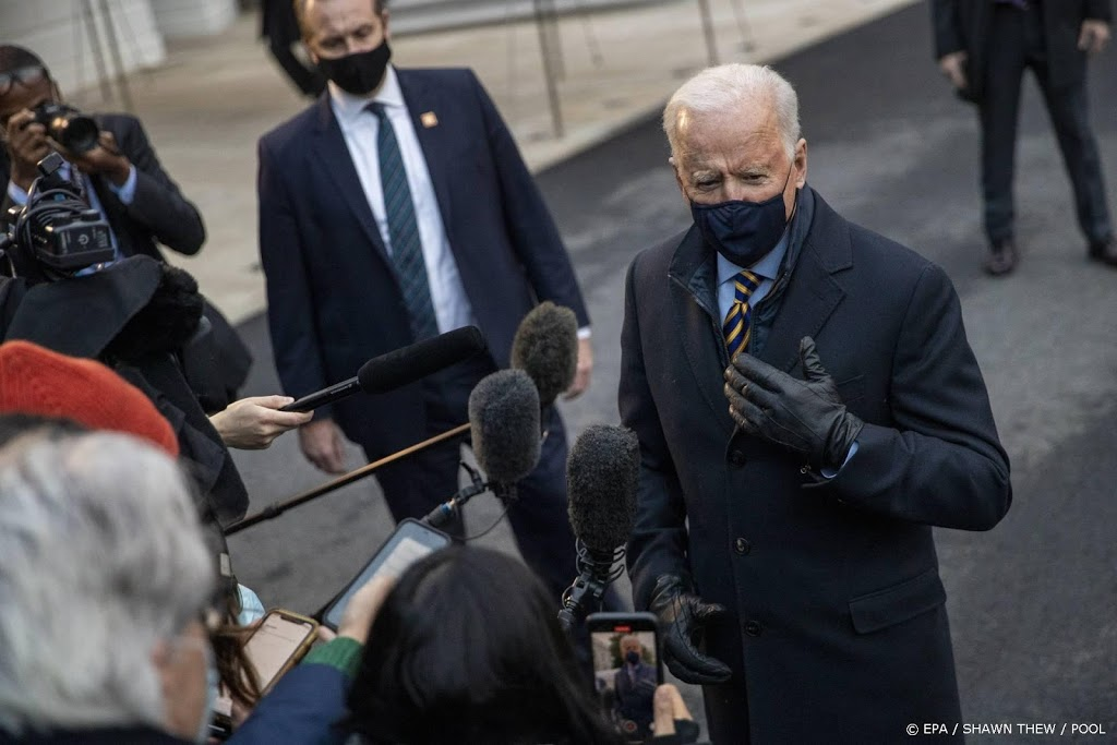 Biden wil meer geld naar politie, geen cel meer voor drugsgebruik