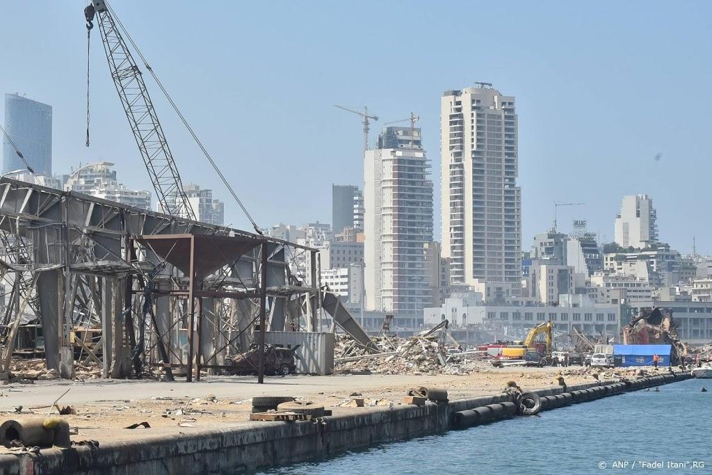 Donoren: we laten inwoners Beiroet niet in de steek