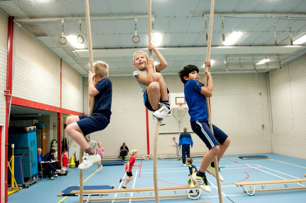 Nova College in Hoofddorp start nieuwe opleiding voor bewegen, kinderopvang en onderwijs