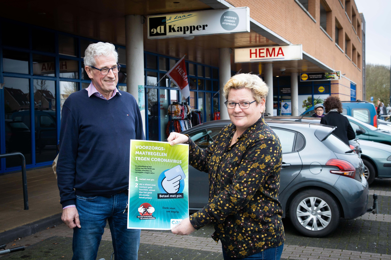 Voorzitter Jos Loos van winkelcentrum Vijverhof in Avenhorn: 'Sluiting winkels vanwege corona fatale keuze'