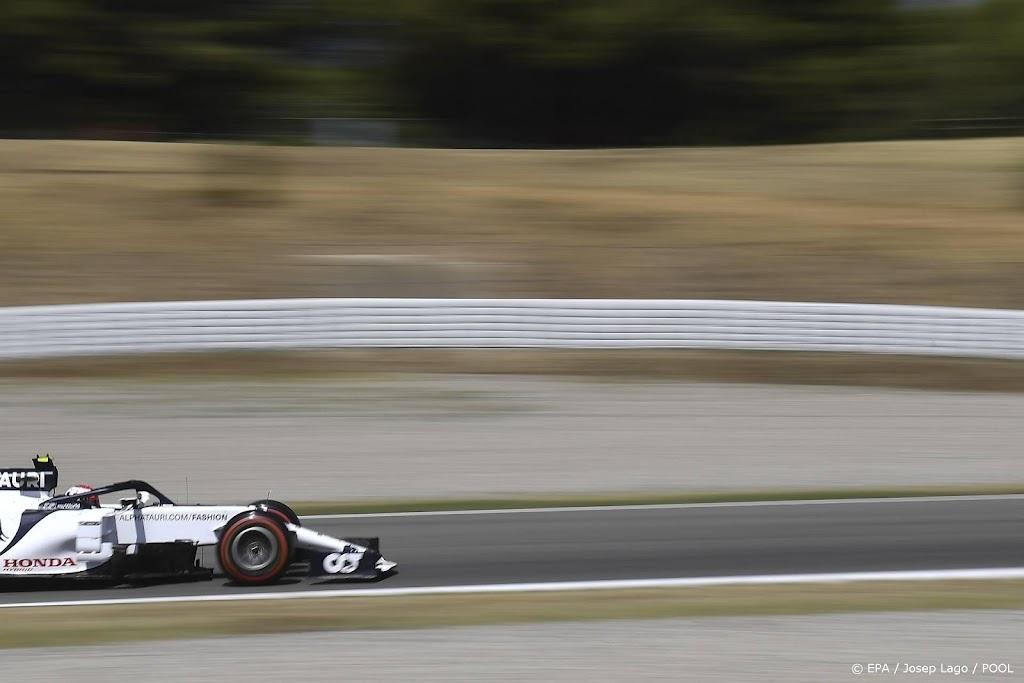 Onbemande raceauto uit Eindhoven scheurt over Formule 1-circuit