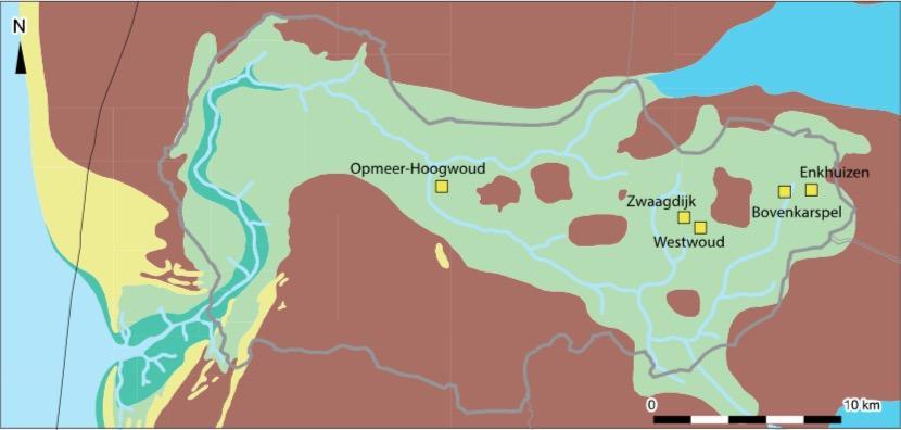 Koeien waren in het West-Friesland van de Bronstijd lid van de familie
