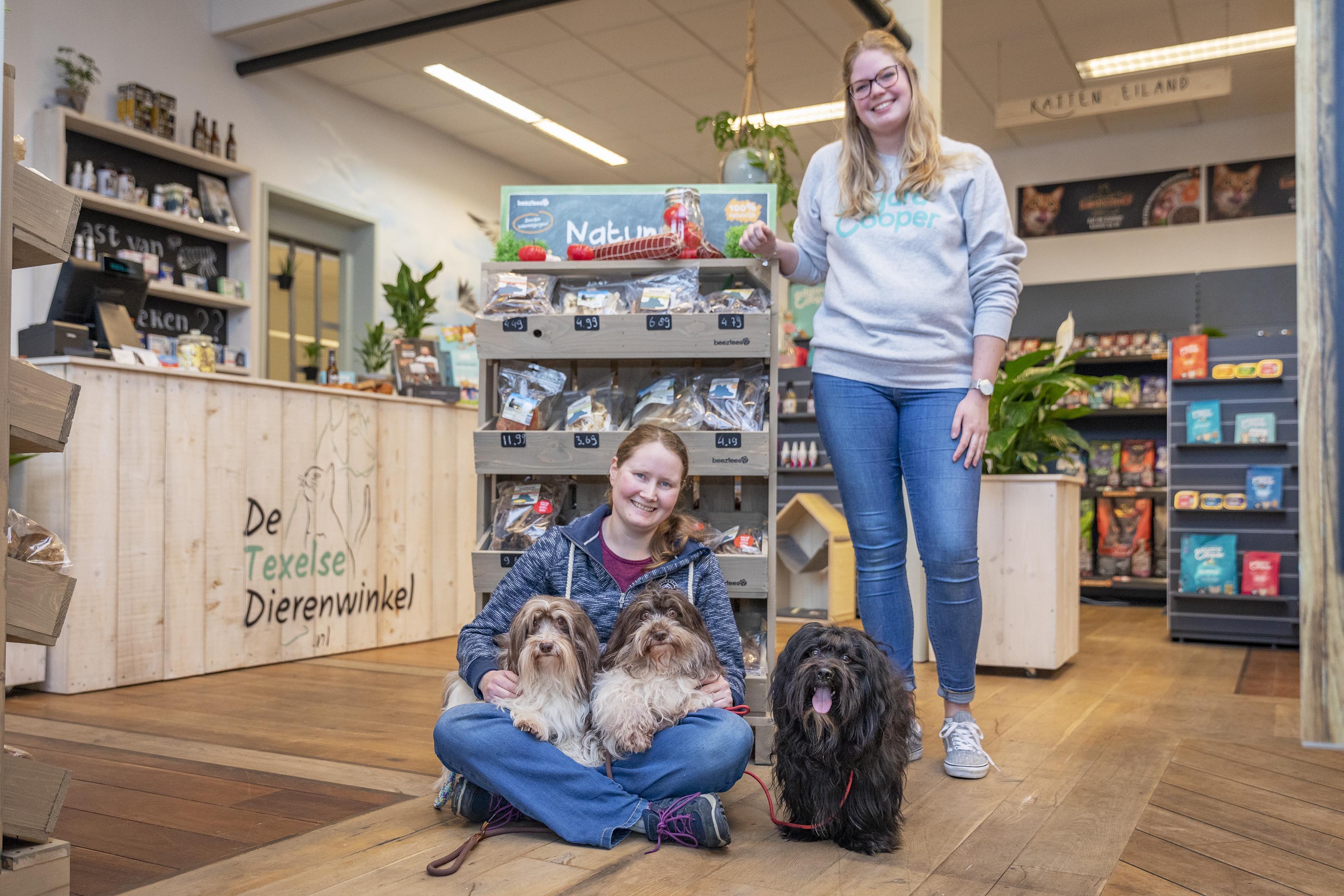 Dierenwinkel Celina op Texel is gelegaliseerd: ze zat er al een poosje, maar nu mag het ook echt