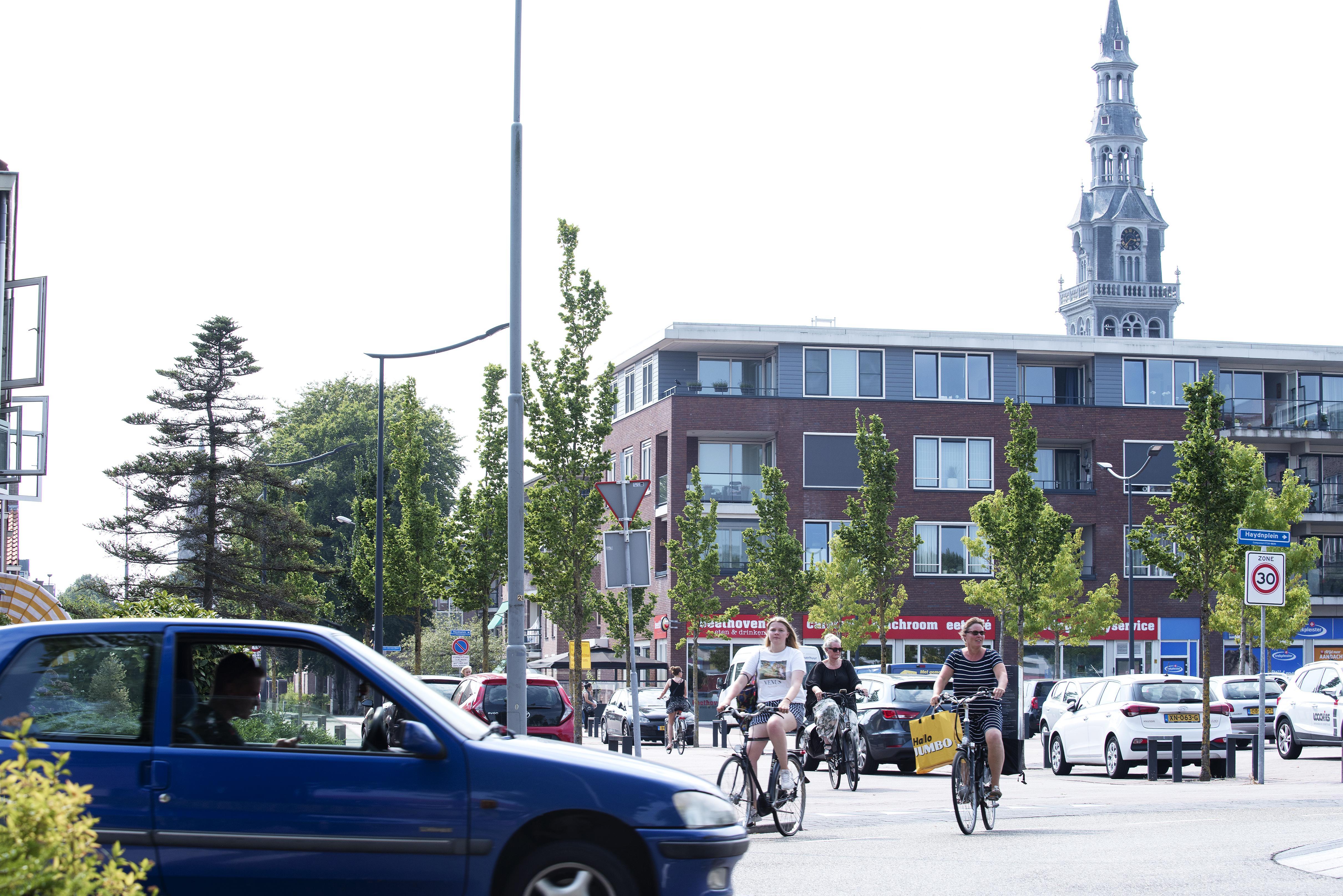 Haydnplein wordt rustiger en groener, keerlus Gerrit van Assendelftstraat verdwijnt