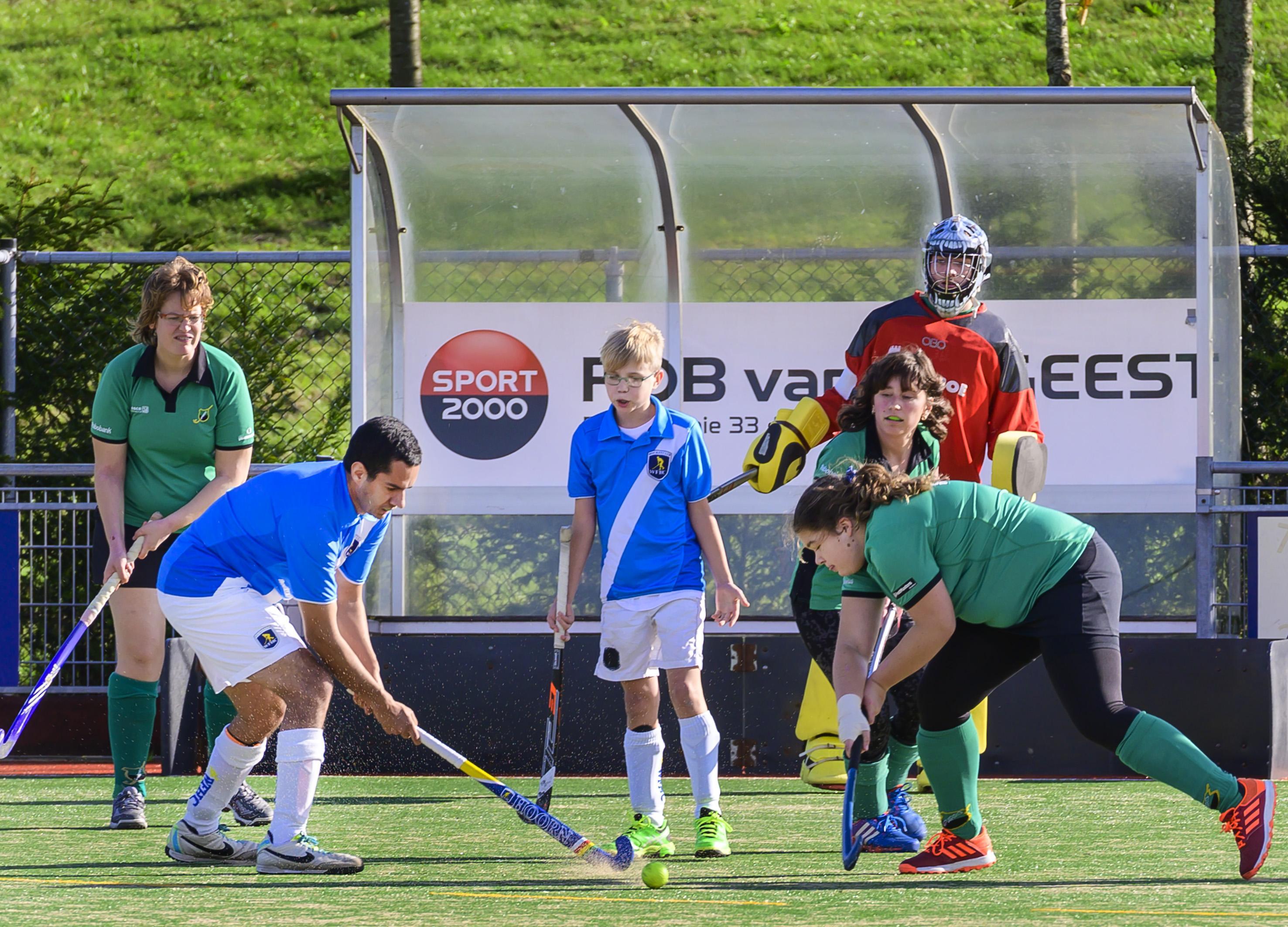 G-hockeytoernooi bij MHC De Kikkers in Nieuw-Vennep weer één groot feest