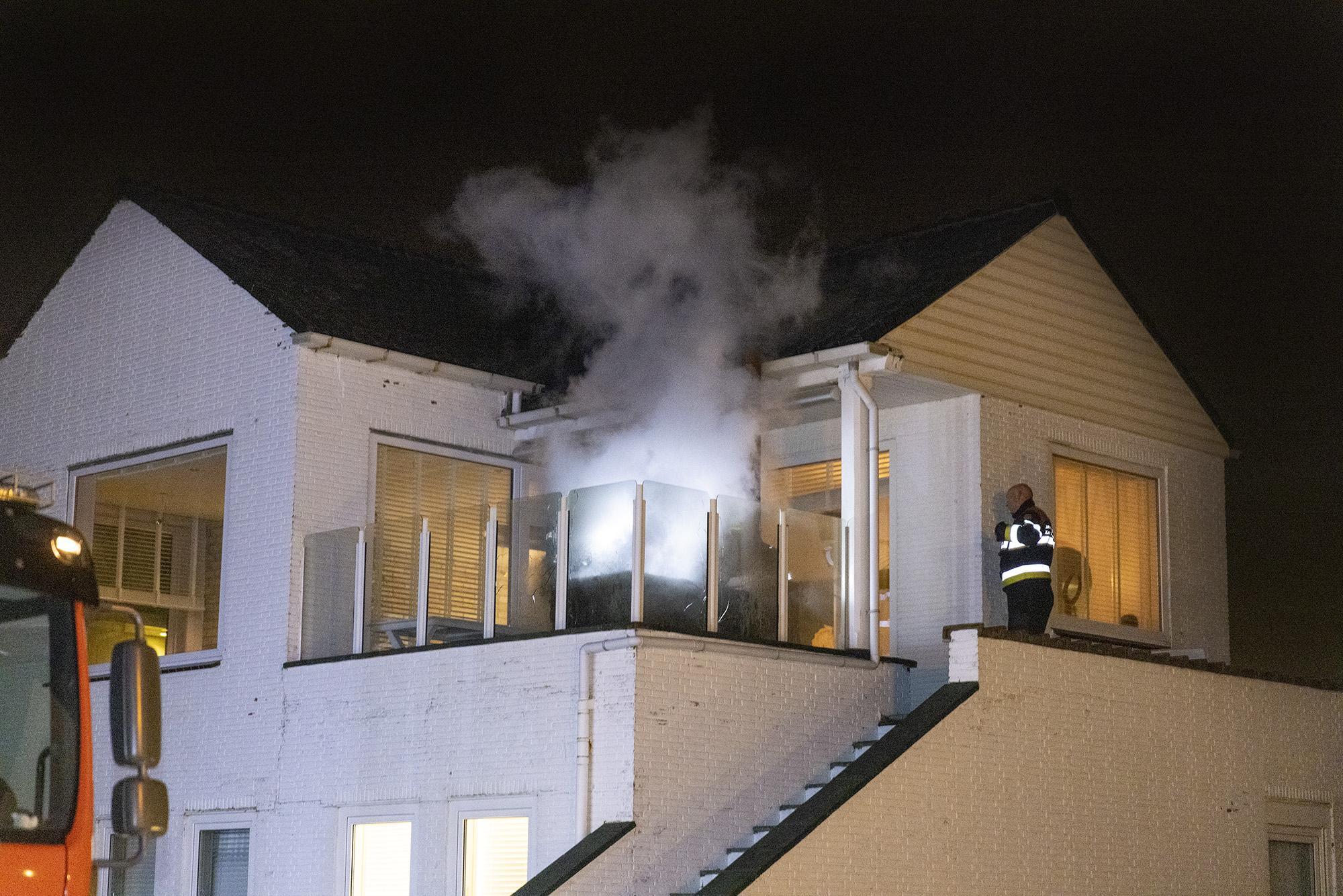 Voorbijganger ontdekt brand in buitenkeuken van woning Zandvoort