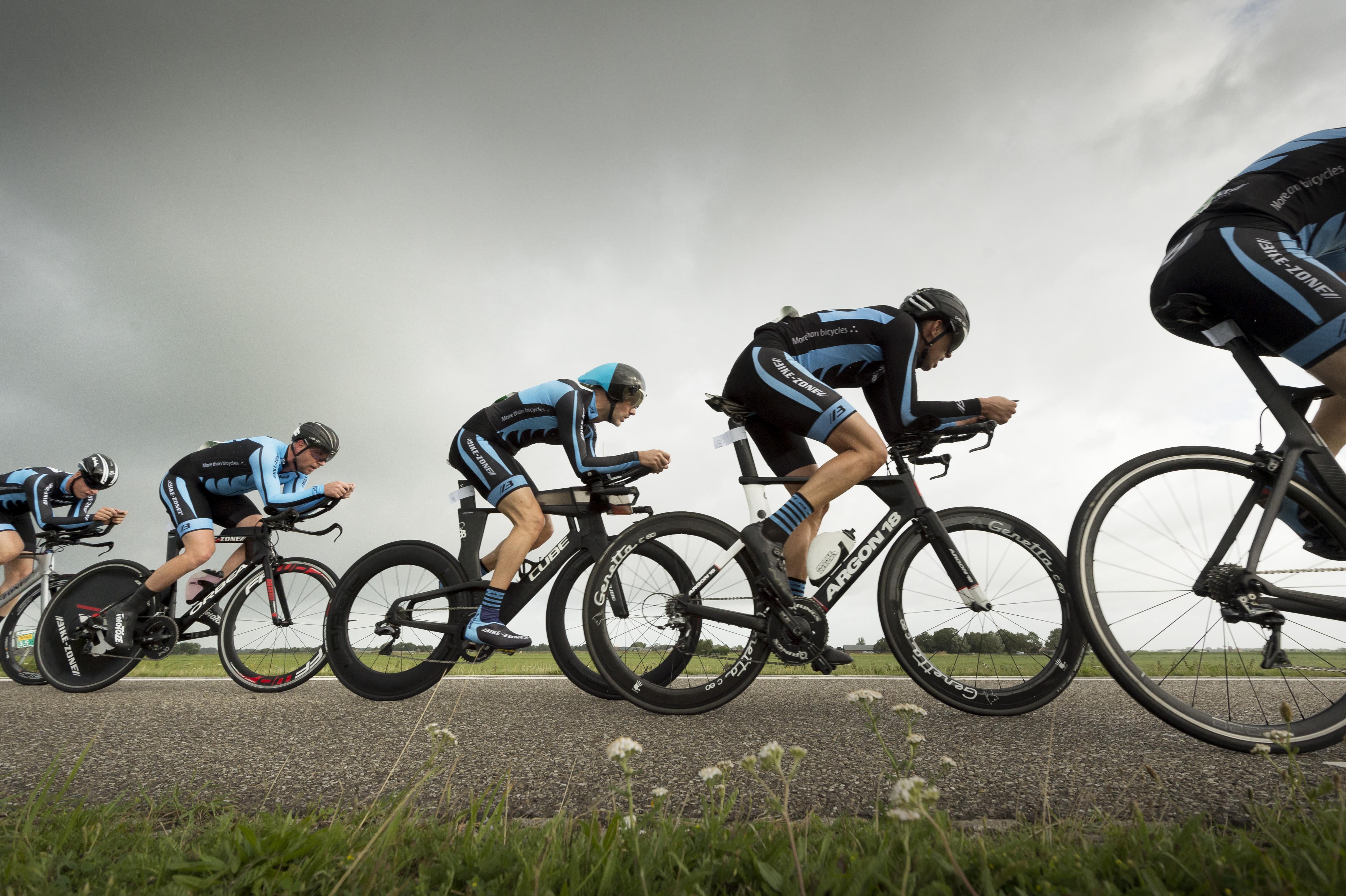 Jaarlijkse triathlon in Leiderdorp krijgt ook eredivisie