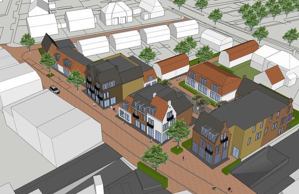 Veel ambities voor centrum van Huizen