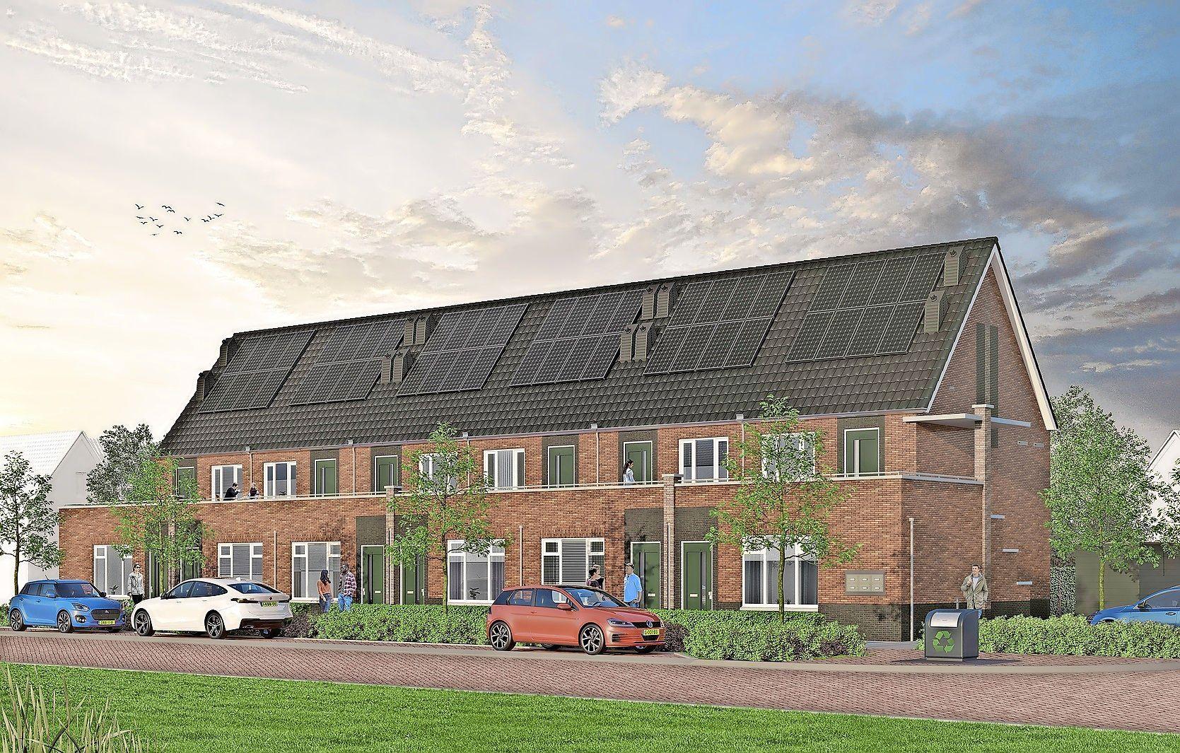 Ruim 300 inschrijvingen binnen een etmaal voor 12 nieuwbouwwoningen in Zwaag