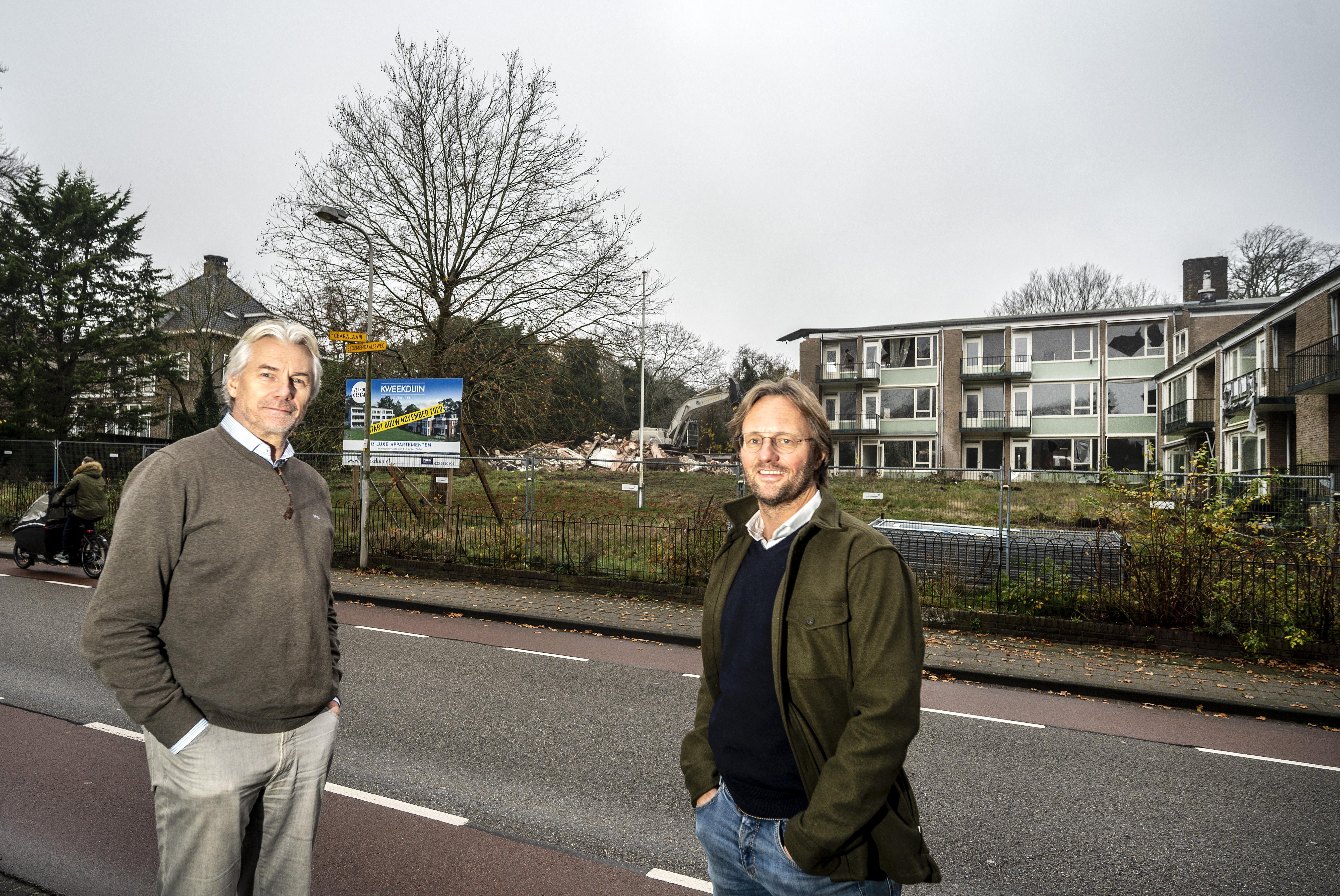Nieuw luxueus appartementencomplex aan Bloemendaalseweg. 'Plan is ontstaan bij een biertje in café Sligting'