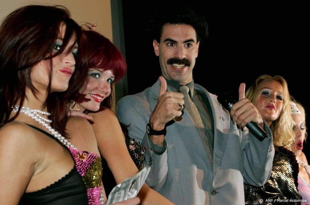 Rechtszaak over Borat van de baan
