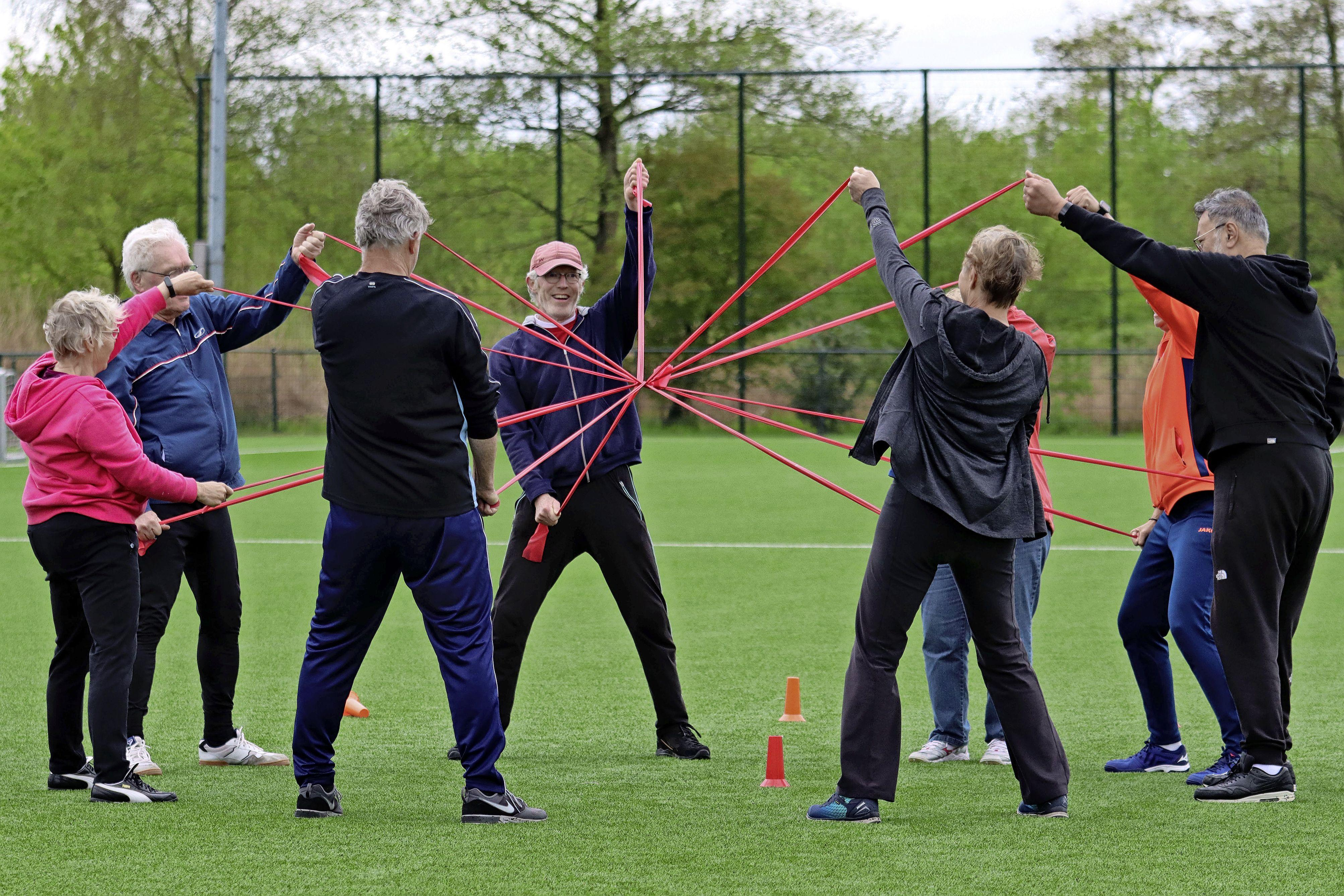 Beweegprogramma Spurd GoldenSports voor ouderen nu ook in Middenbeemster