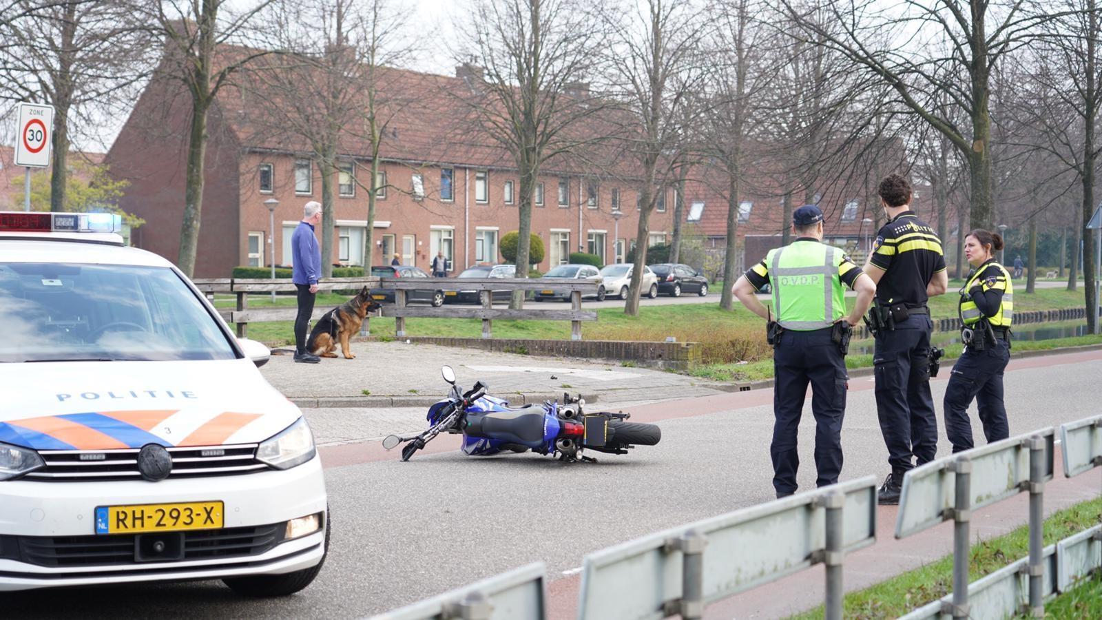 Motorrijder zwaargewond bij valpartij in Hoorn
