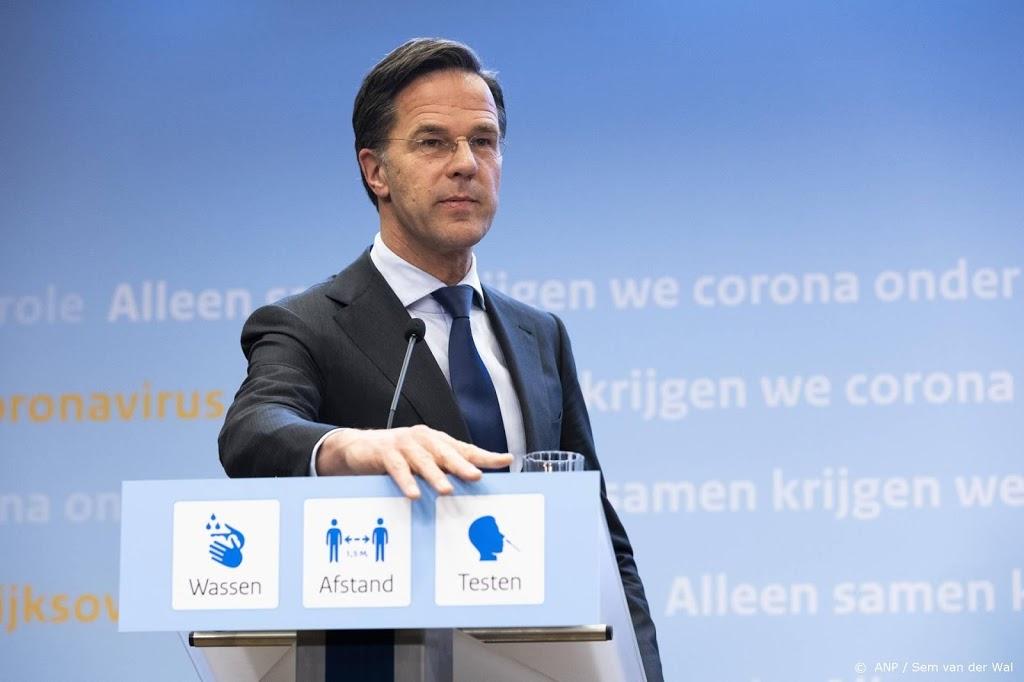 Rutte: net genoeg verbetering voor eerste versoepelingen