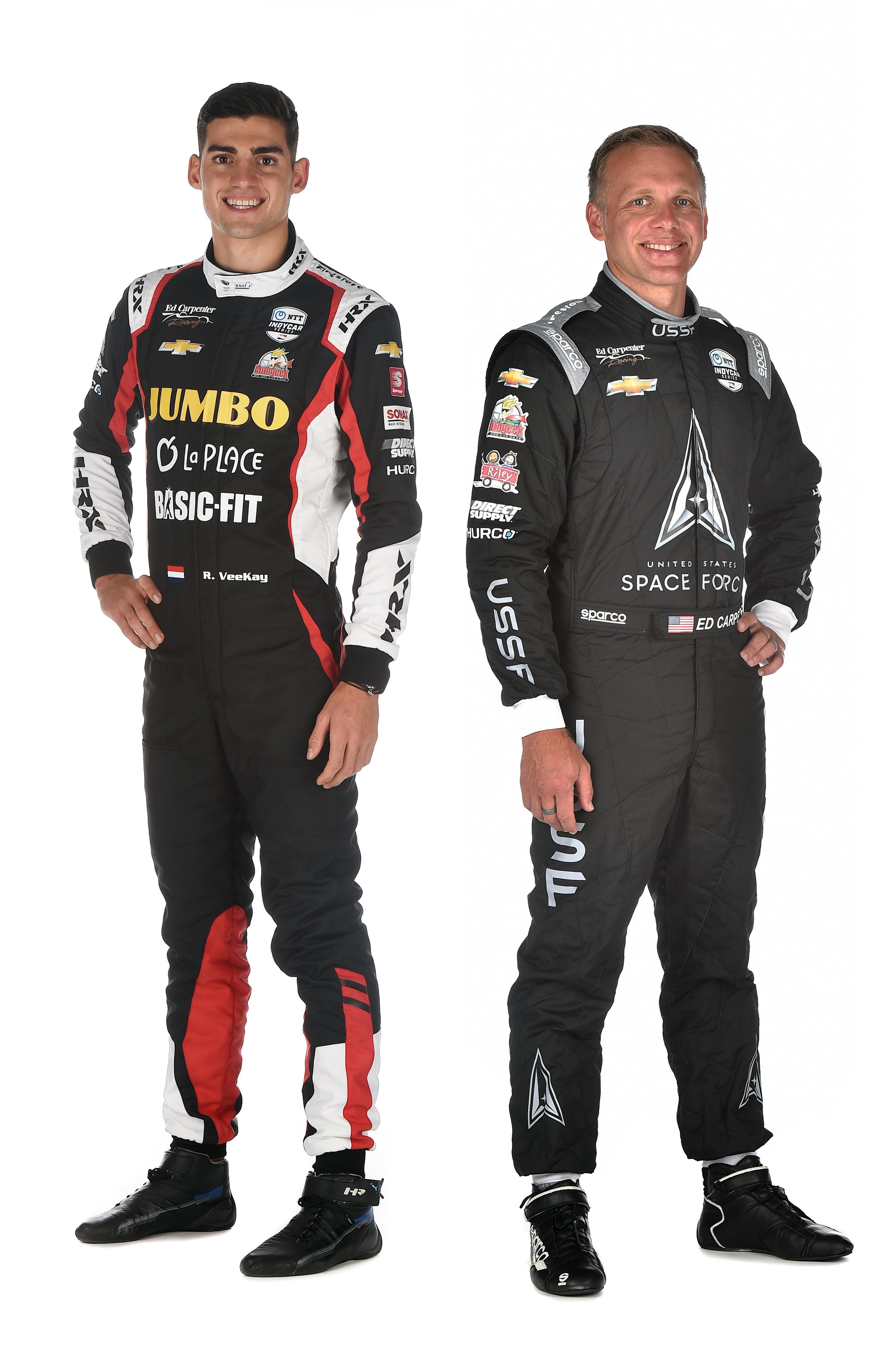 Goede optredens Rinus van Kalmthout in IndyCar beloond met nieuw contract: Hoofddorper ook volgend jaar bij Ed Carptenter