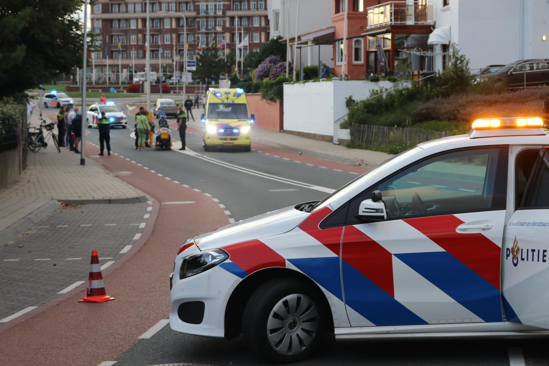 Fietser zwaargewond bij botsing met wielrenner in Noordwijk