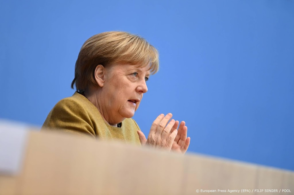 Merkel: lockdowns beginnen vruchten af te werpen