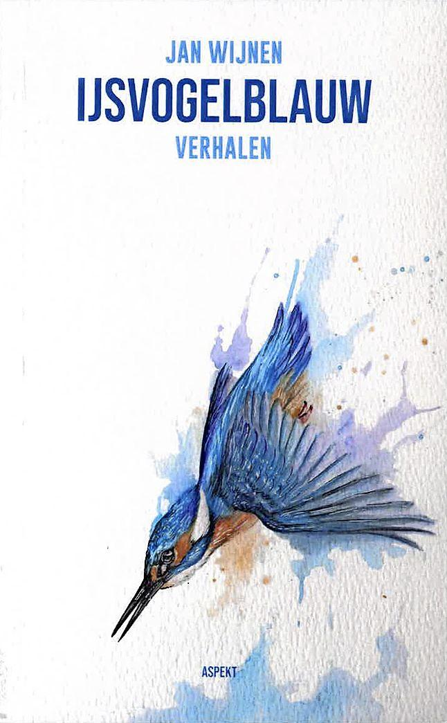 Schrijftrant Jan Wijnen is alsof hij de duivel op de hielen heeft; bundel IJsvogelblauw leest als een trein, staat vol met seks en is grofgebekt