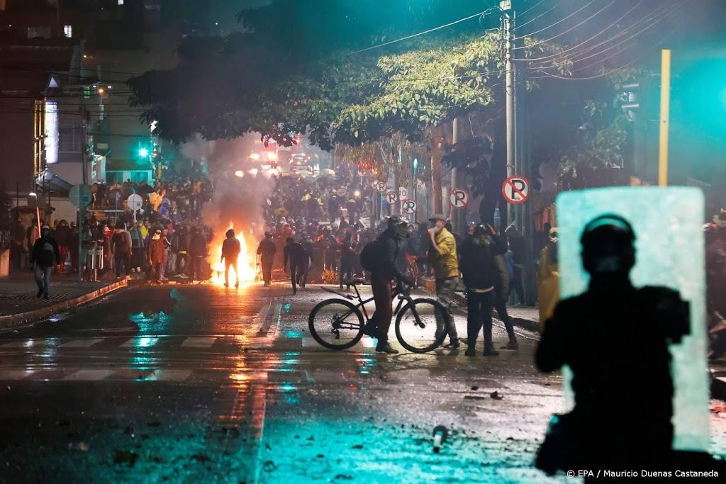 Doden en honderden gewonden bij protestgolf in Colombia