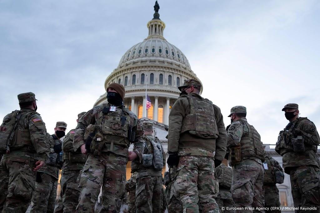'Niets wijst op dreigingen vanuit leger VS voor beëdiging Biden'