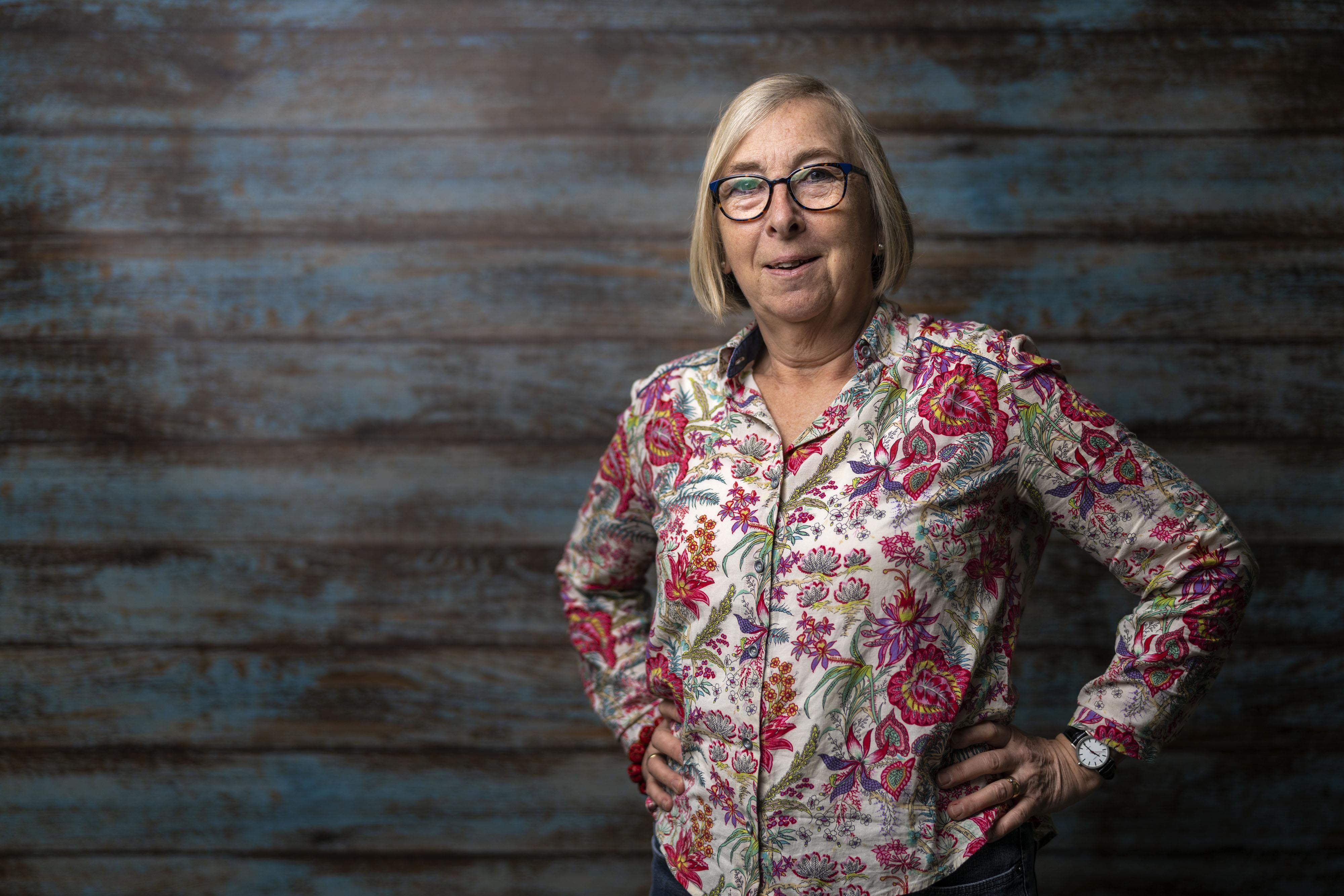 Gerda van Uffelen: 'Planten lopen niet weg'