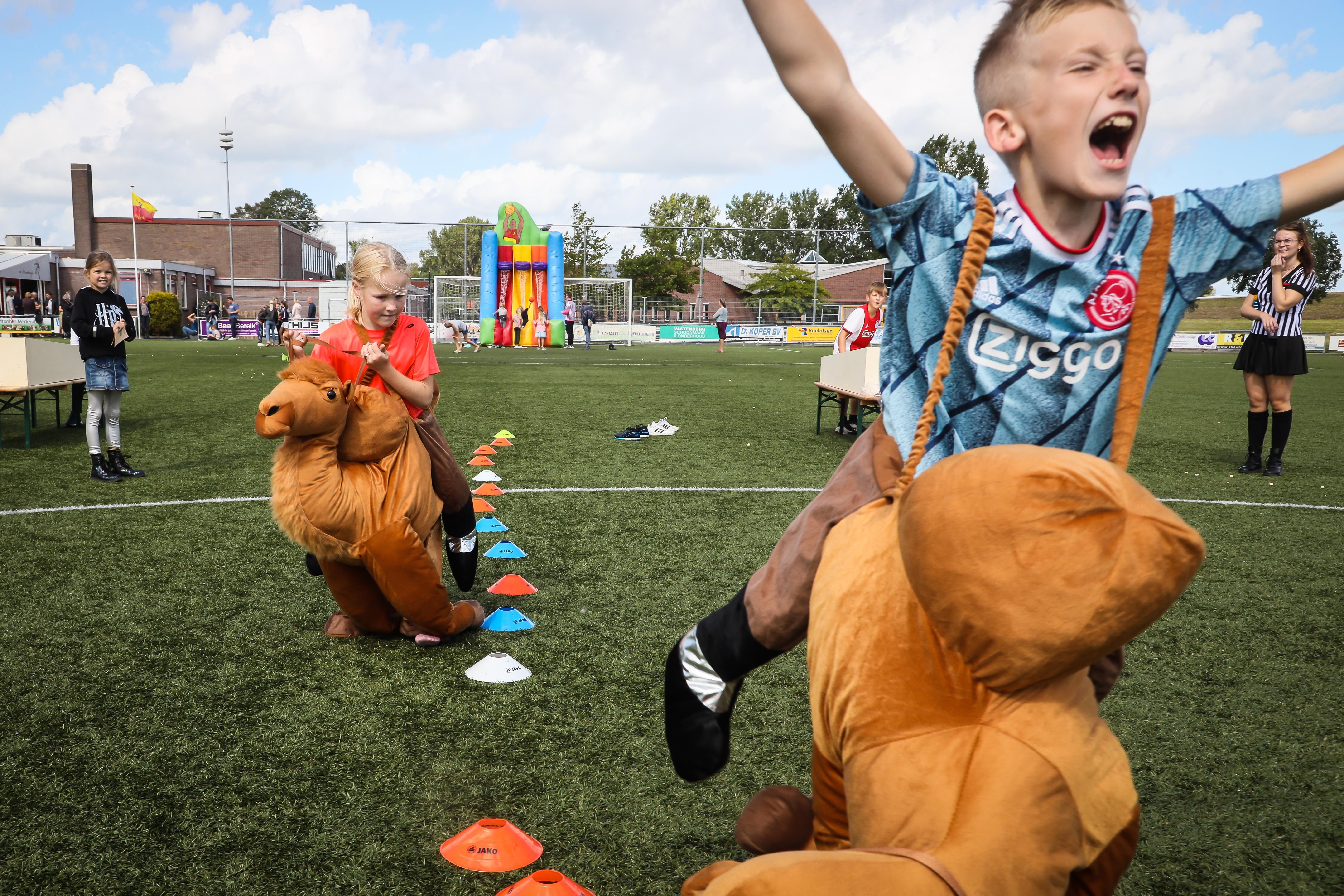 Onderdijk maakt er met Keuterkermis Games voor jong en oud toch een leuk weekend van: 'Dorp heeft dit ook écht wel nodig'