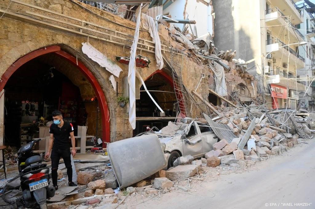 Libanon onderzoekt ook buitenlandse betrokkenheid bij explosie